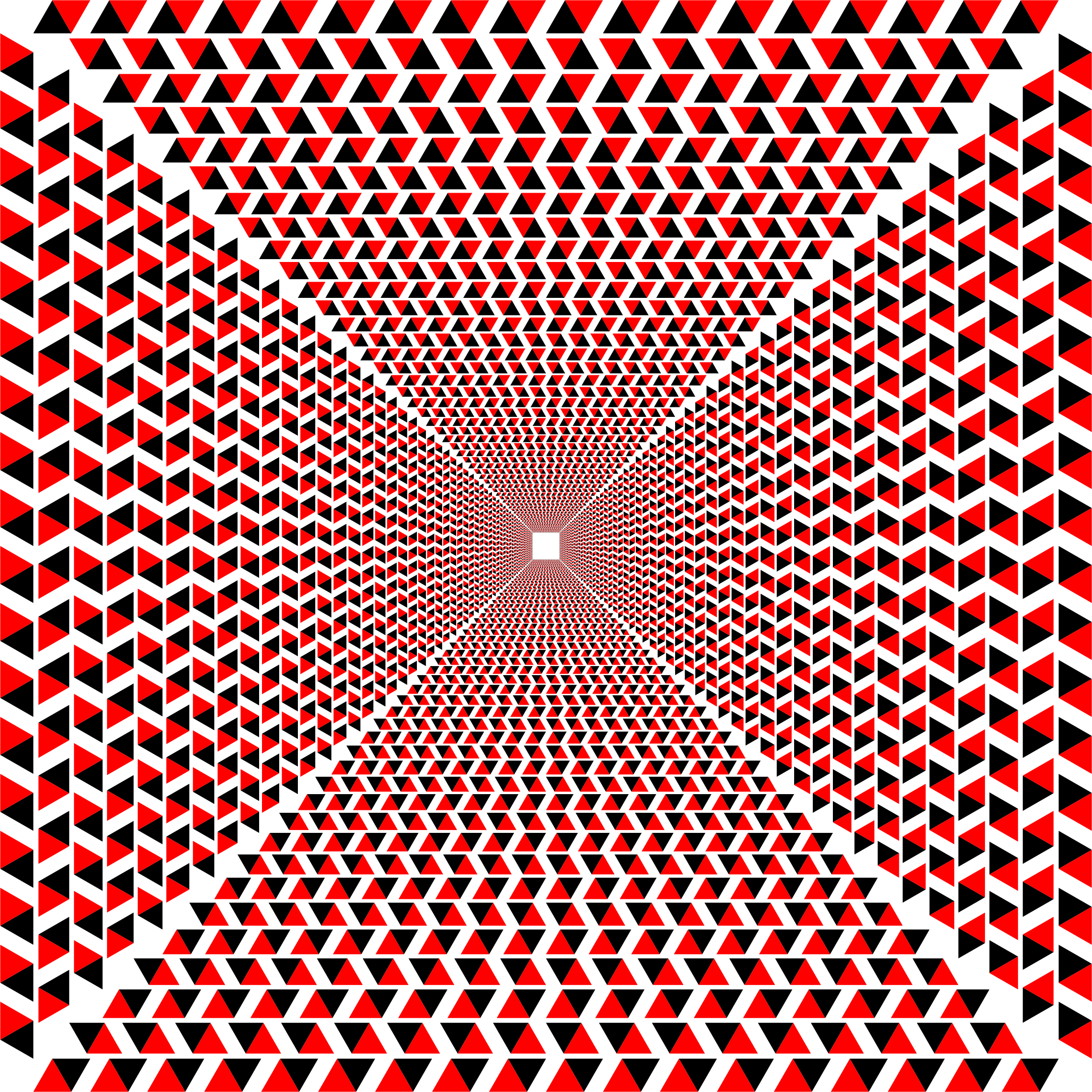 Hypnotic Triangular Vortex 2 by GDJ