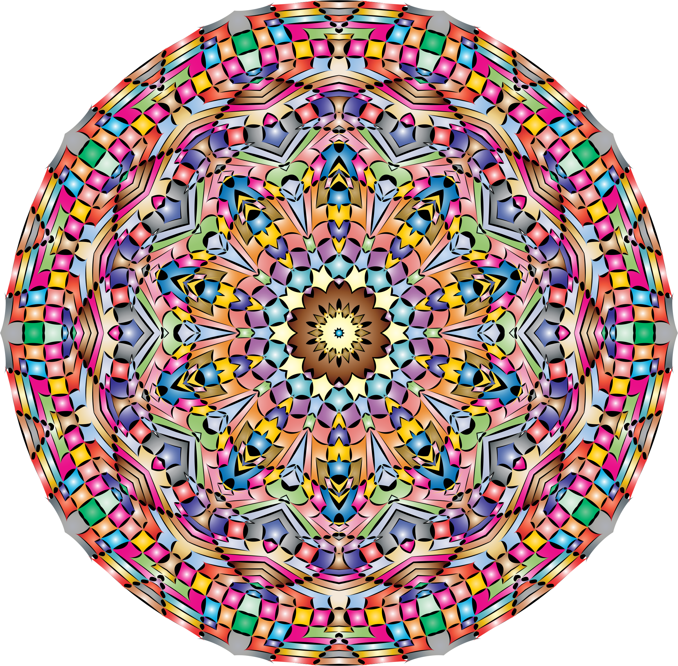 Kaleidoscopic Mandala 5 by GDJ