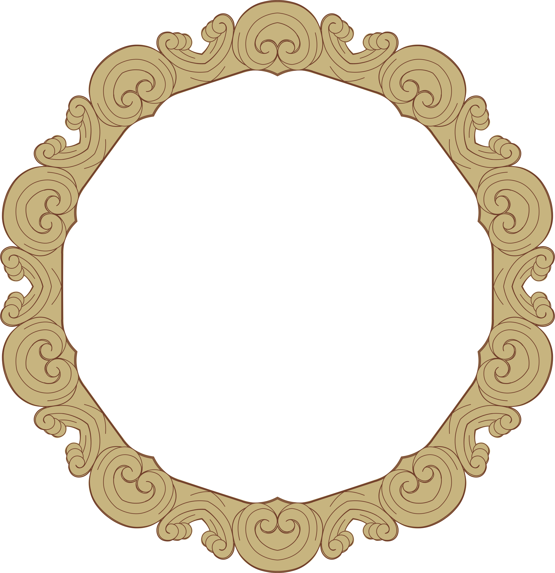 Ornate Frame 24 Derived 4 by GDJ