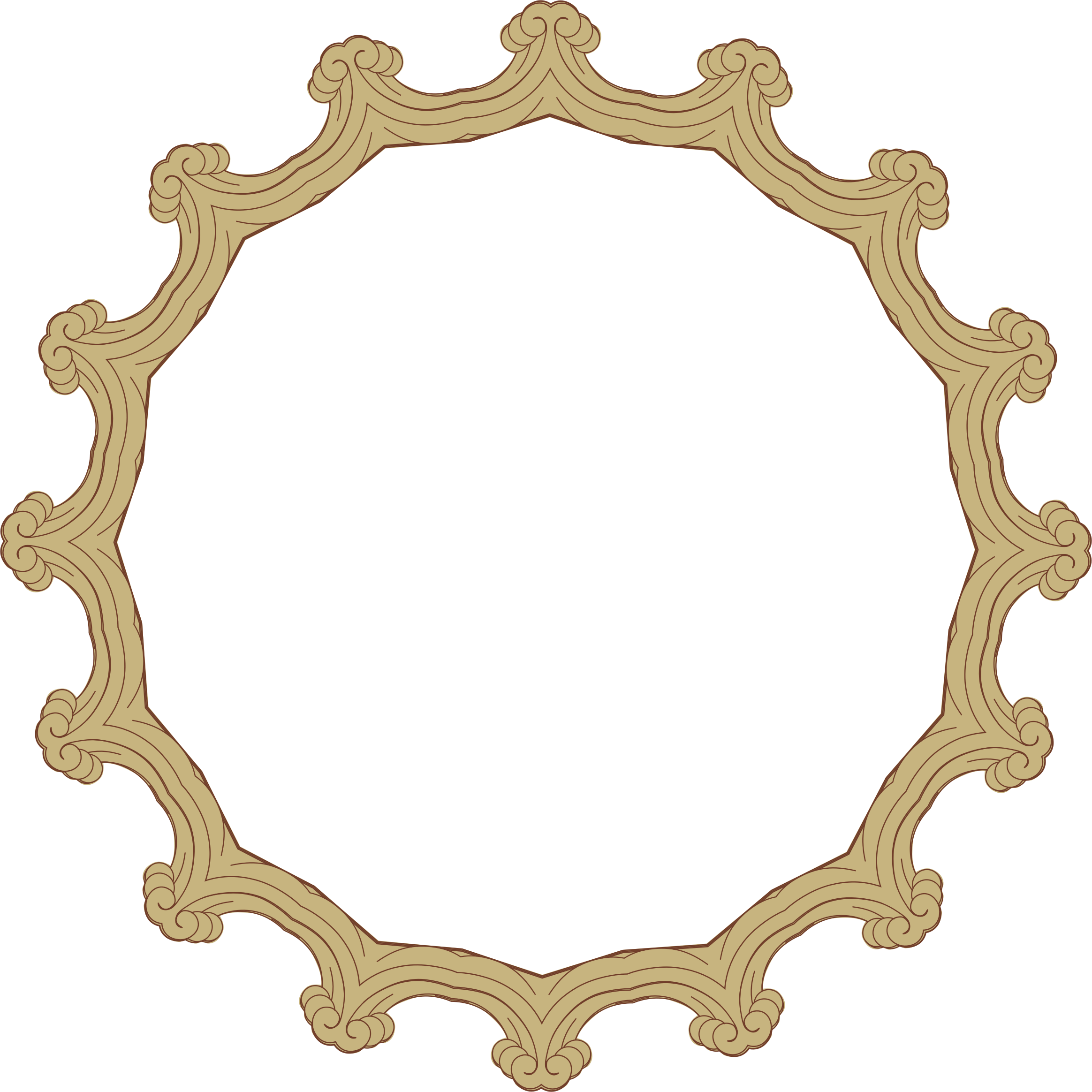 Ornate Frame 24 Derived 5 by GDJ