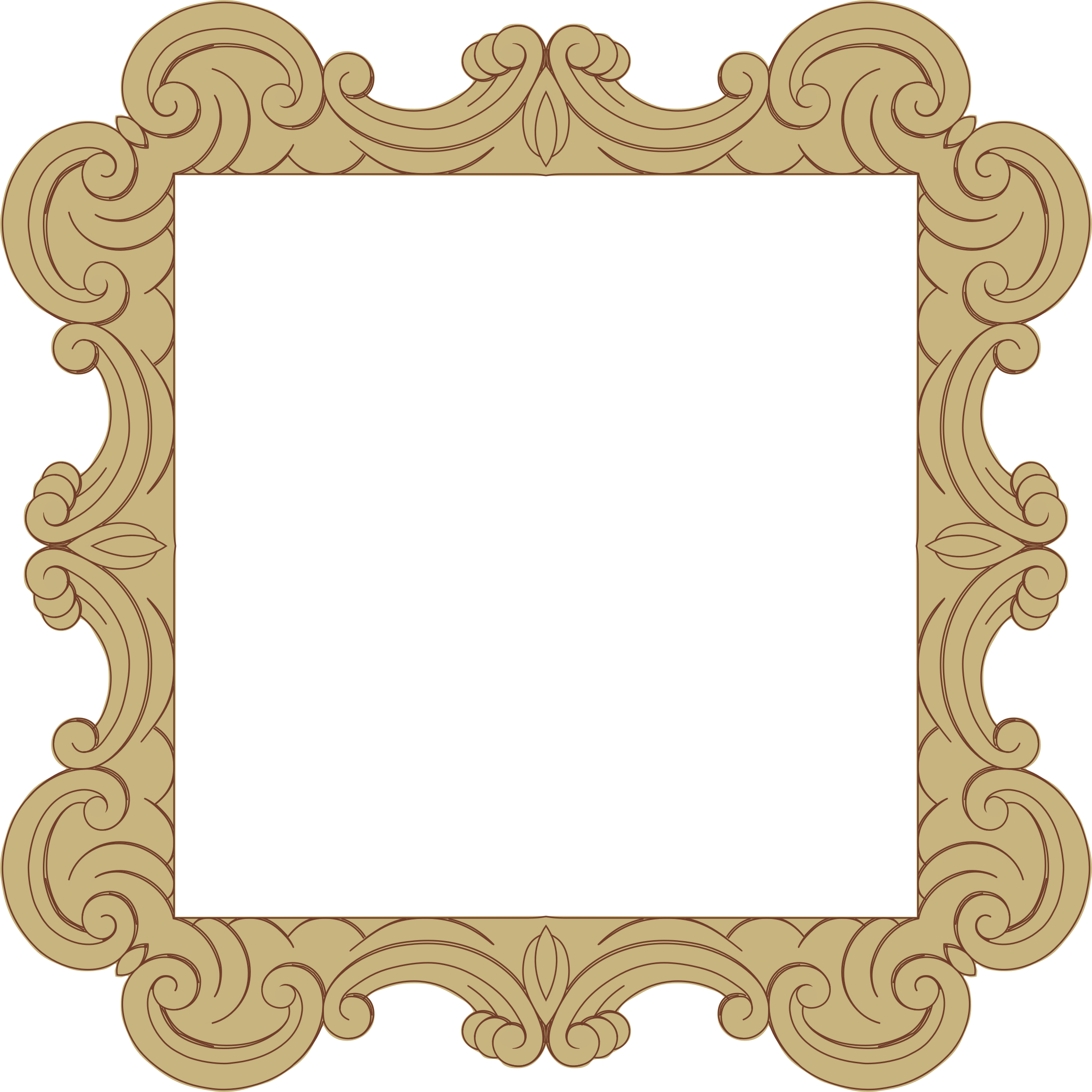 Ornate Frame 24 Derived 6 by GDJ