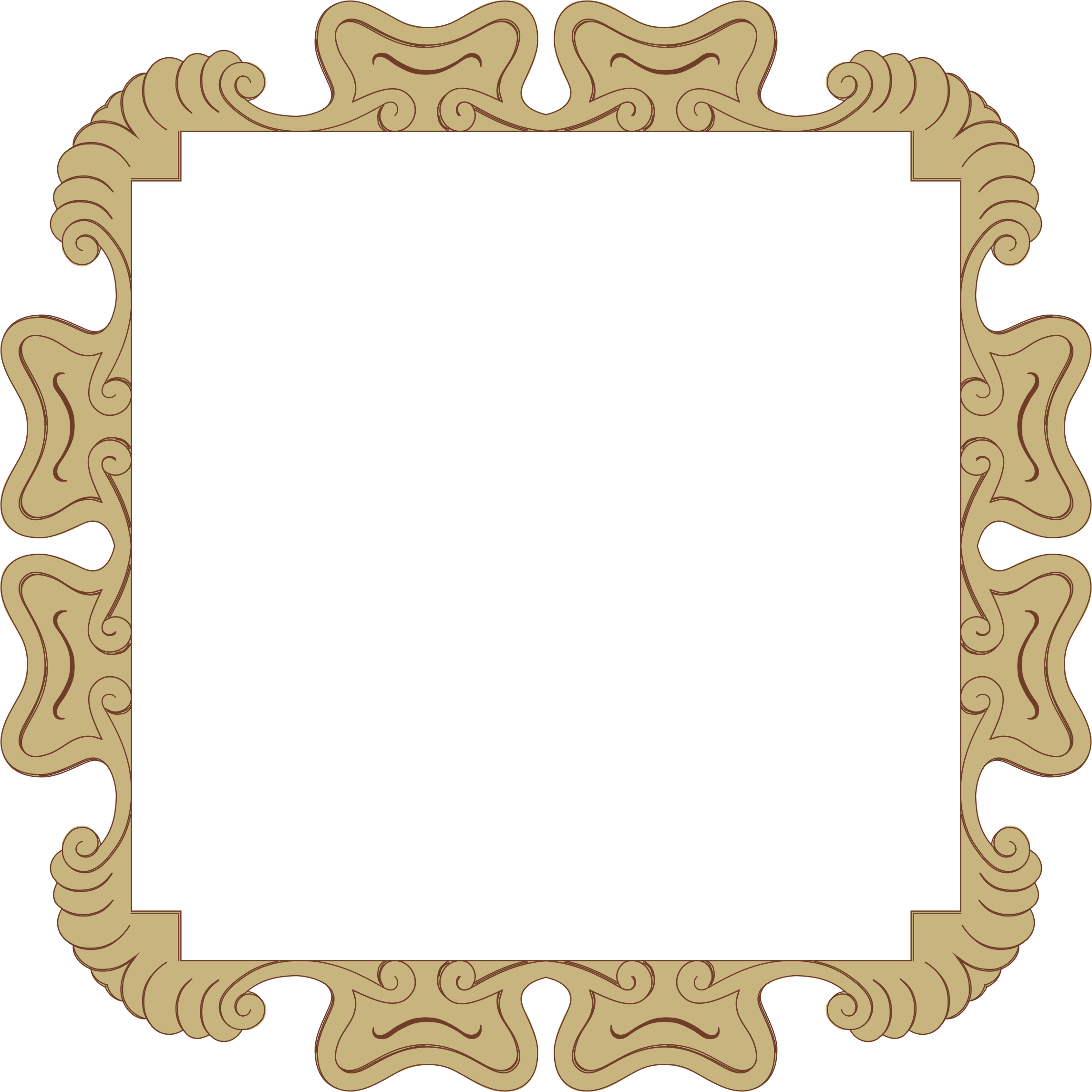 Ornate Frame 24 Derived 8 by GDJ