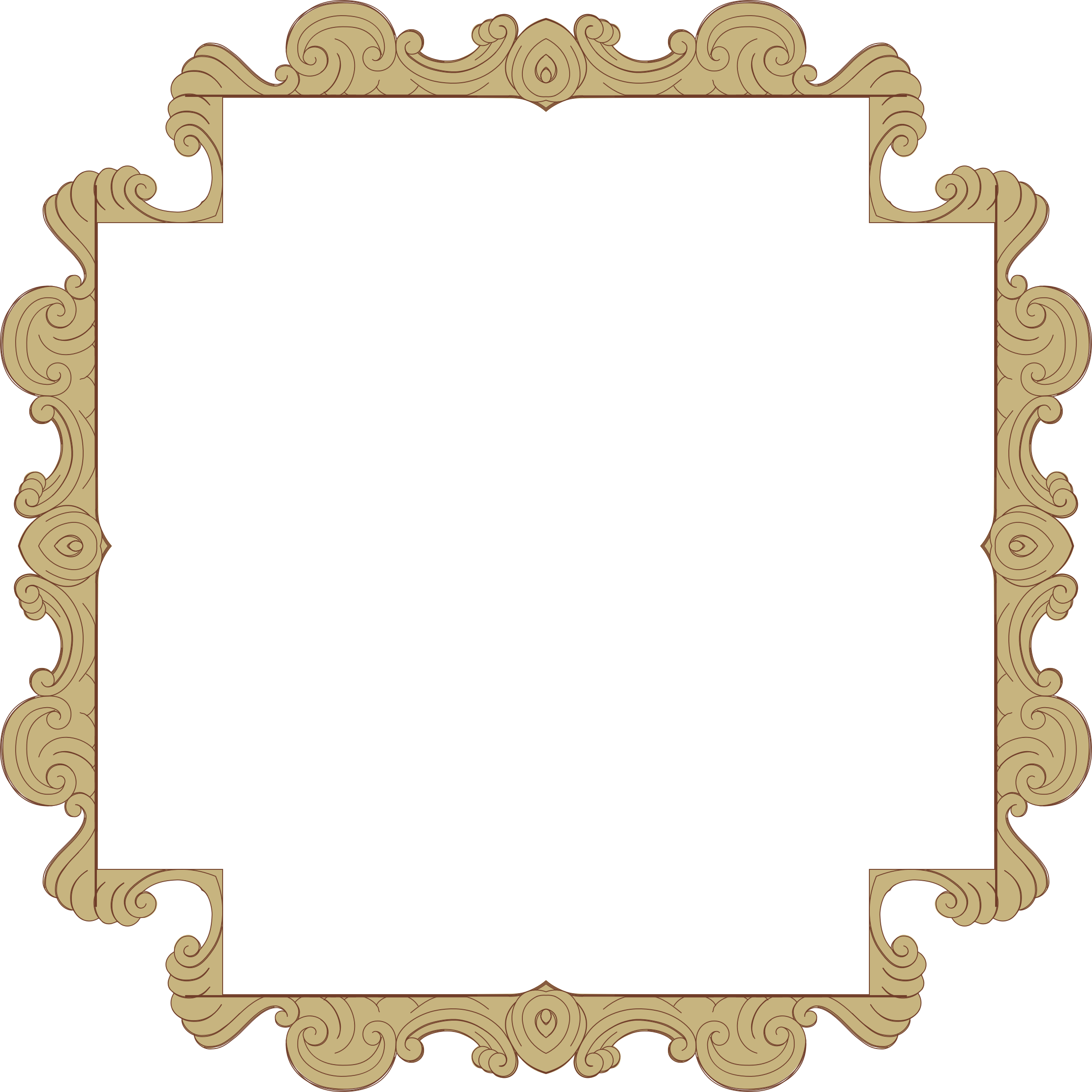Ornate Frame 24 Derived 11 by GDJ