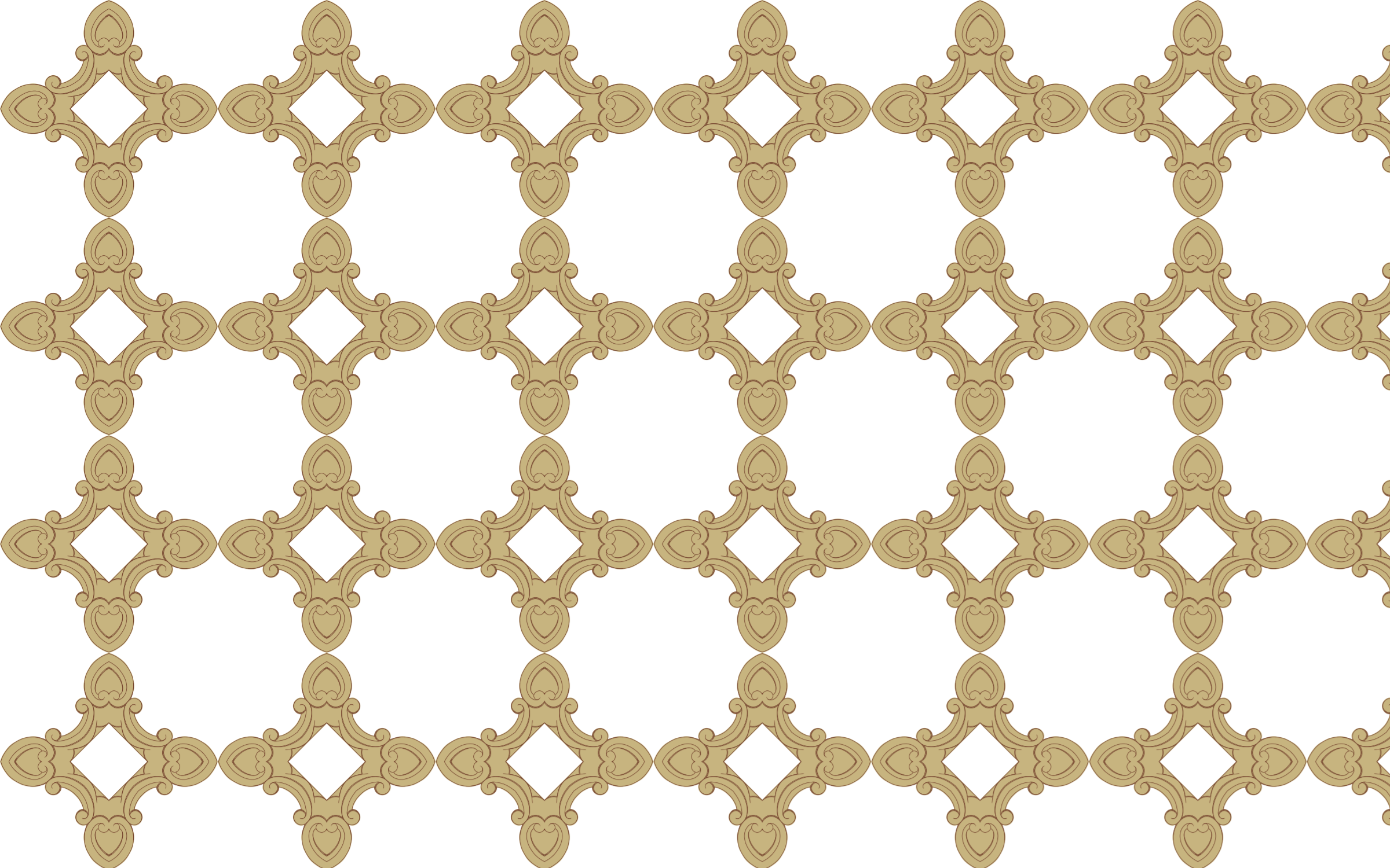 Seamless Ornate Frame 24 Derived Pattern 3 by GDJ