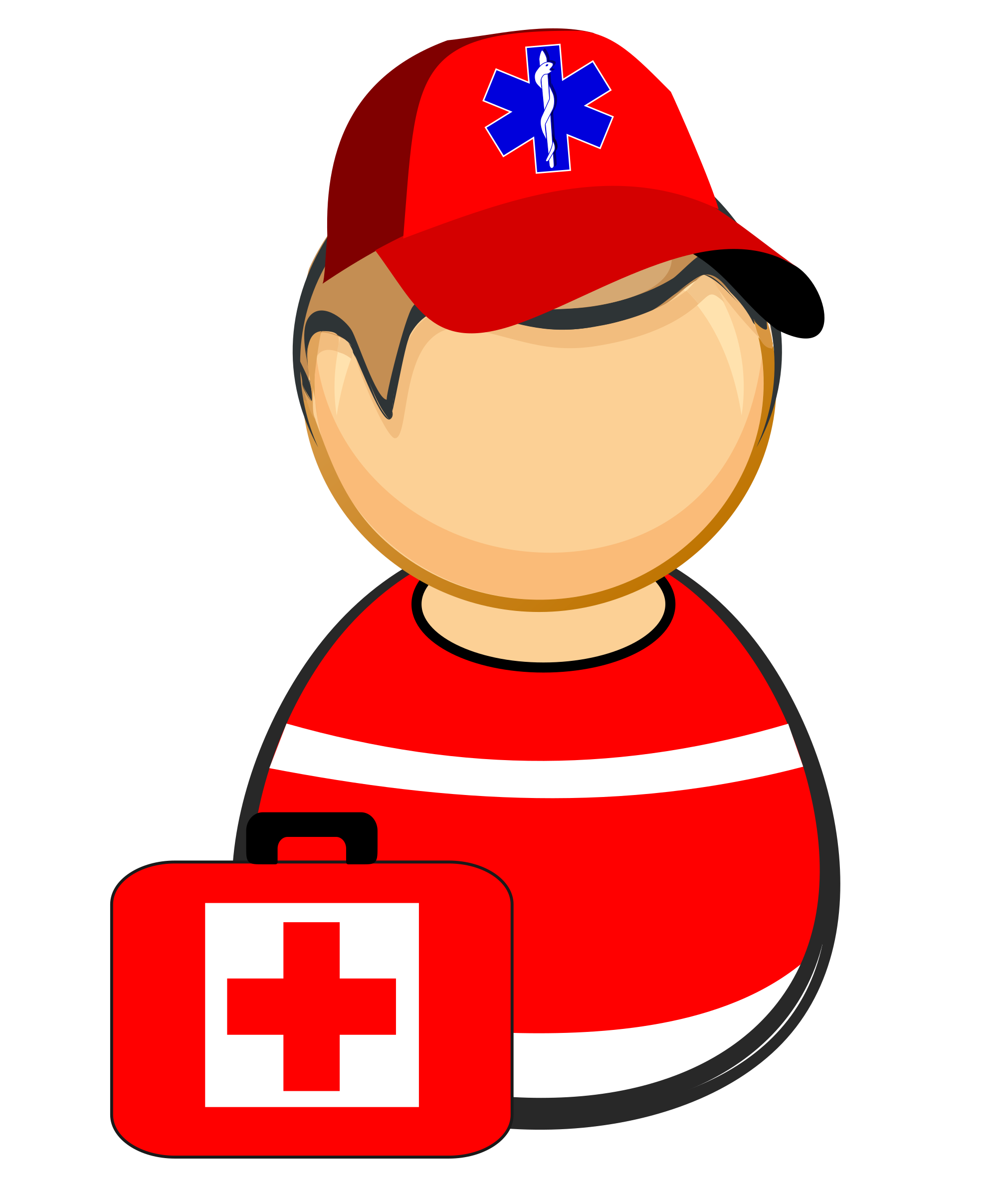 First responder - paramedic by Juhele