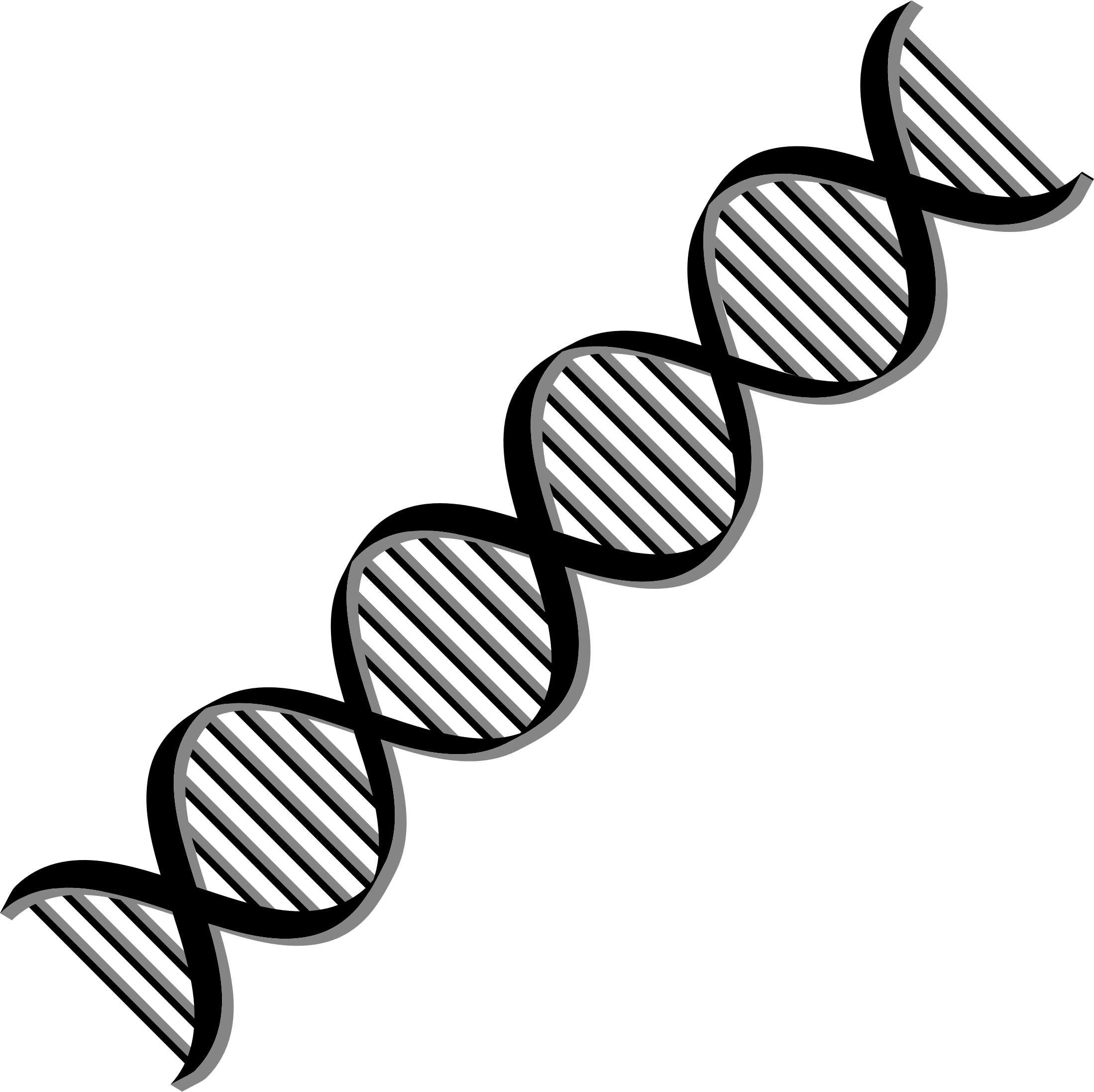 Clipart - DNA Helix Variation 2
