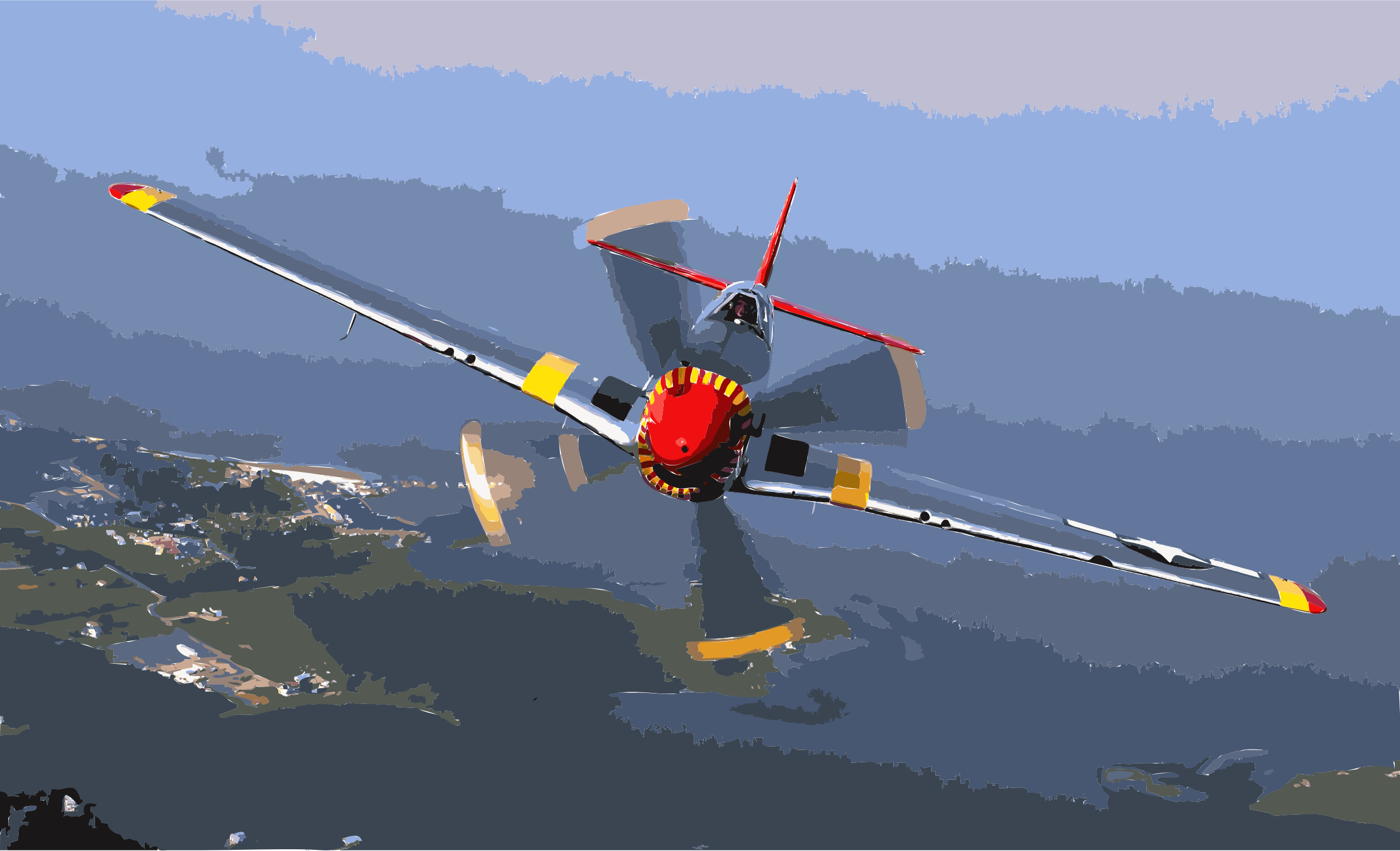 P-51 Mustang edit1 by 3wezo5+6ee0503pz7bvs
