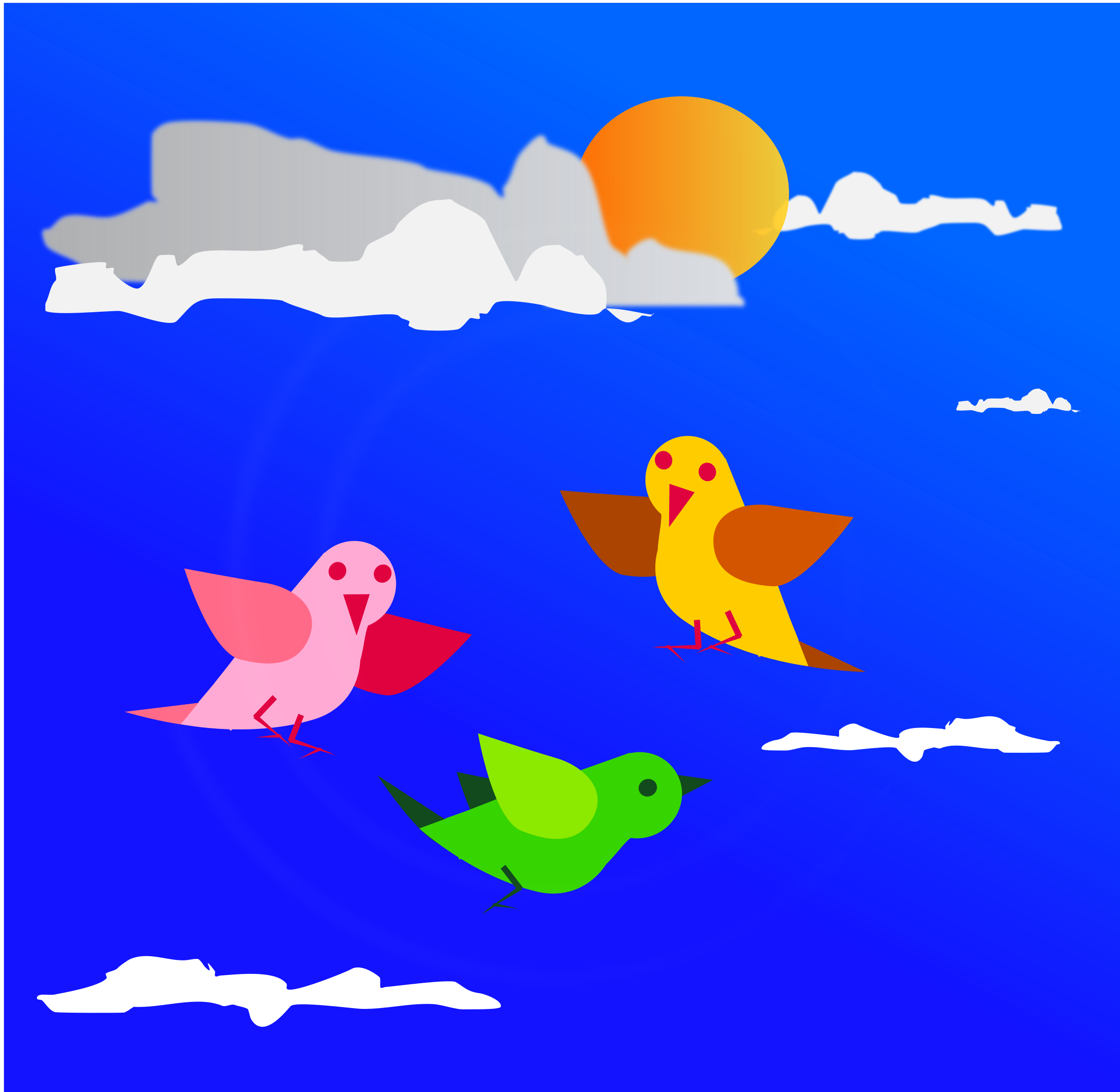 Birds remix fly by dinhochiz