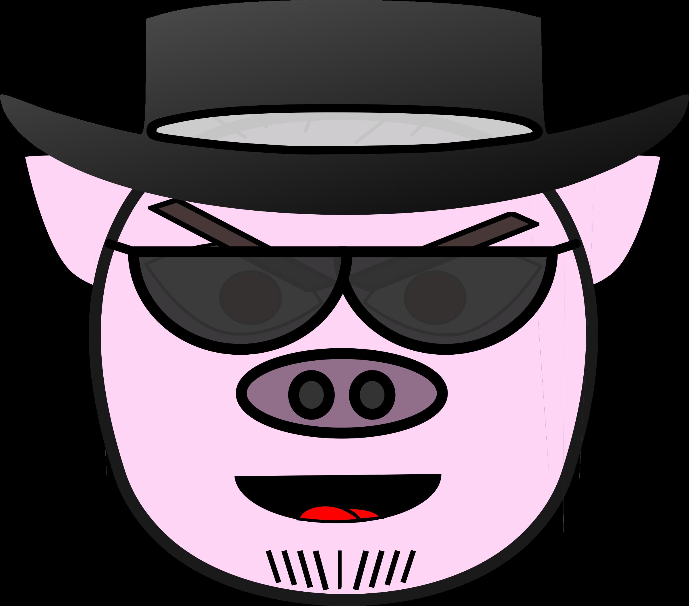 Clipart - EVIL PIG!!!