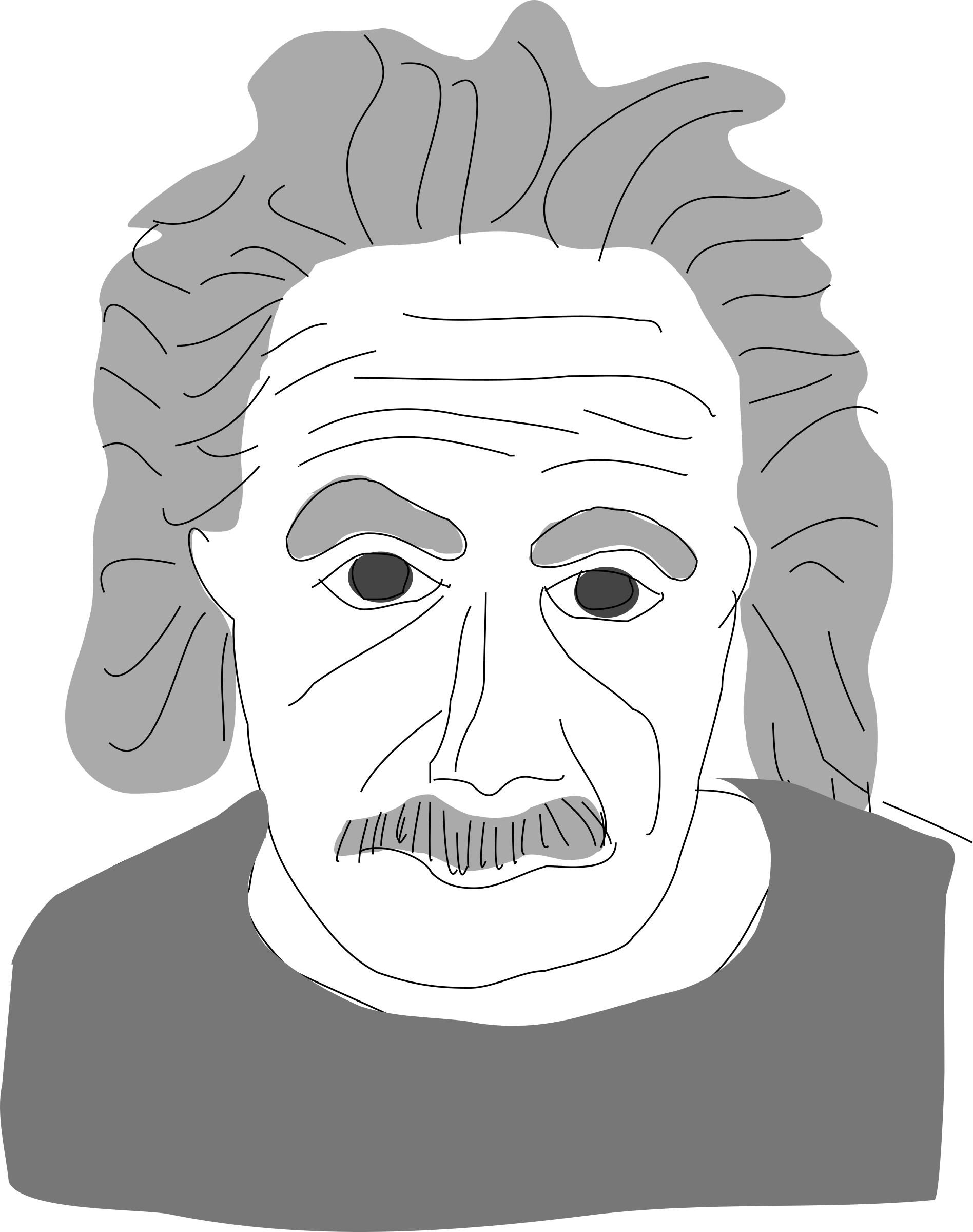 Einstein by Anonymous