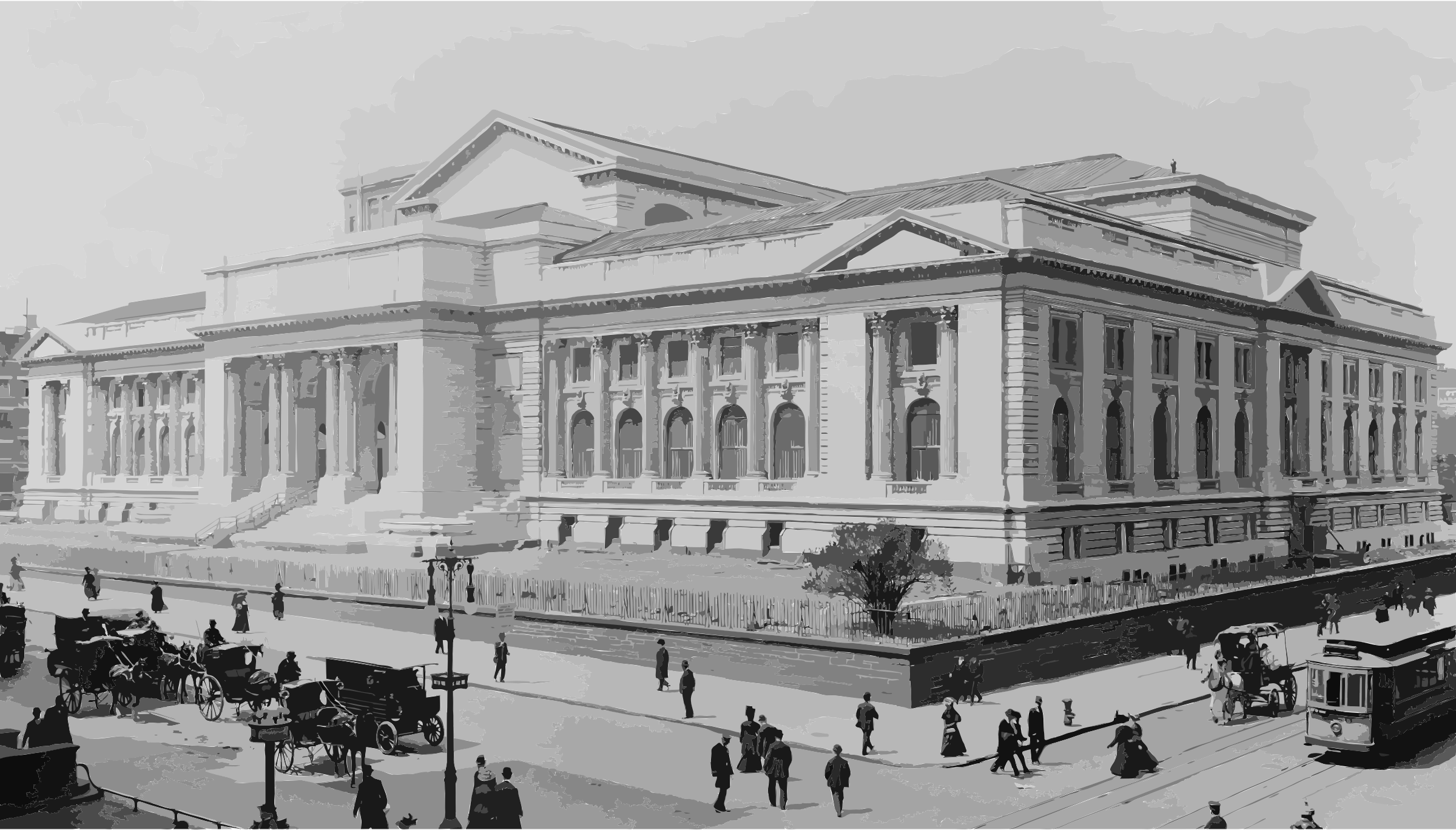 New York Public Library 1908c by 3wt1f5+ceucmedqy949o