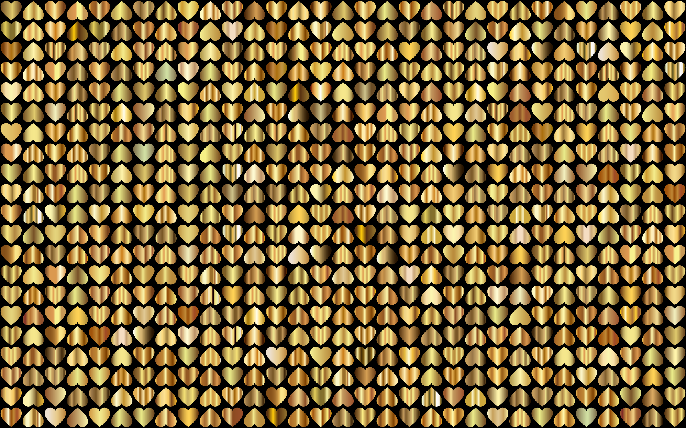 Prismatic Alternating Hearts Pattern Background 8 by GDJ
