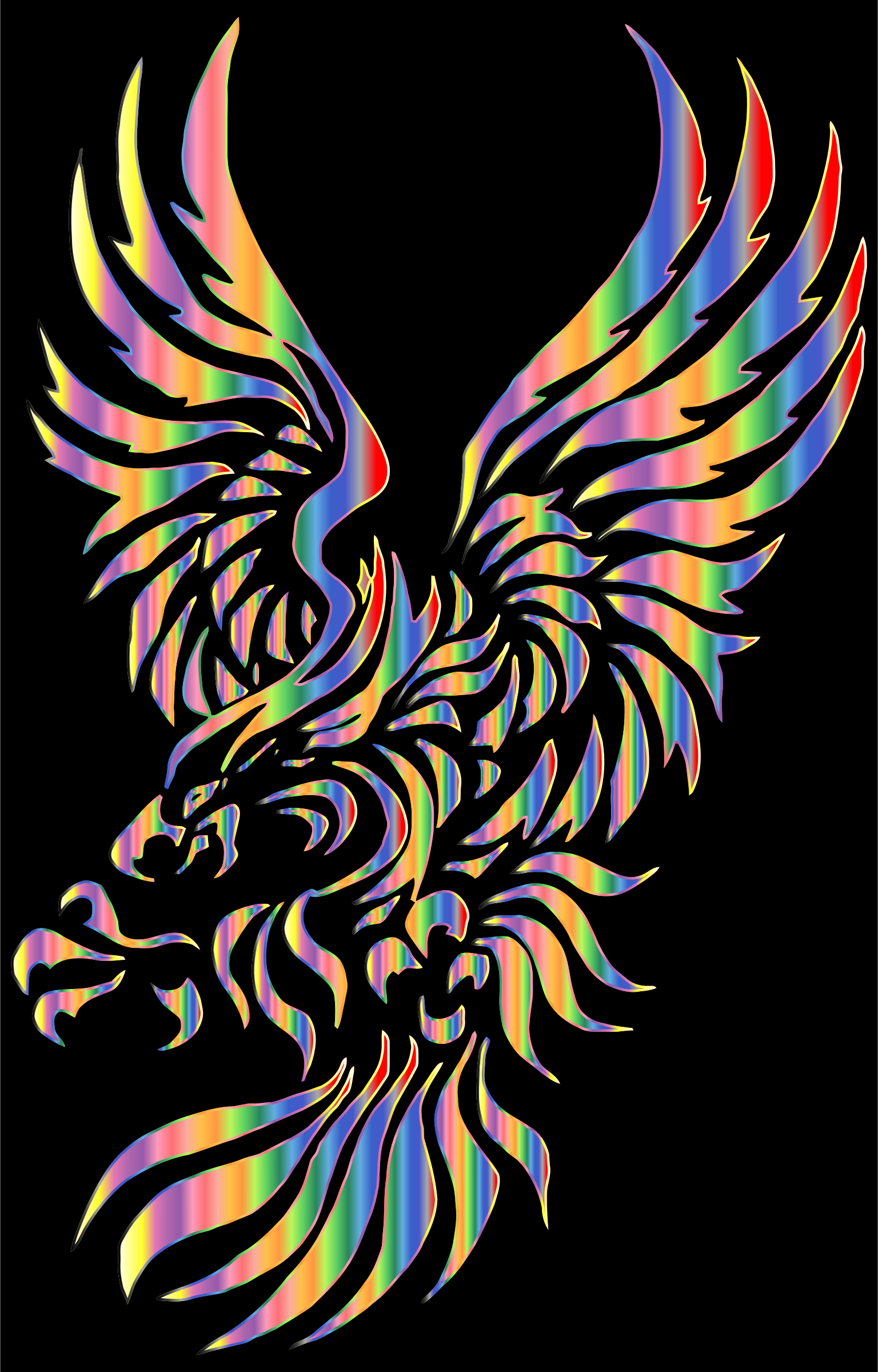 Chromatic Tribal Eagle 2 2 by GDJ