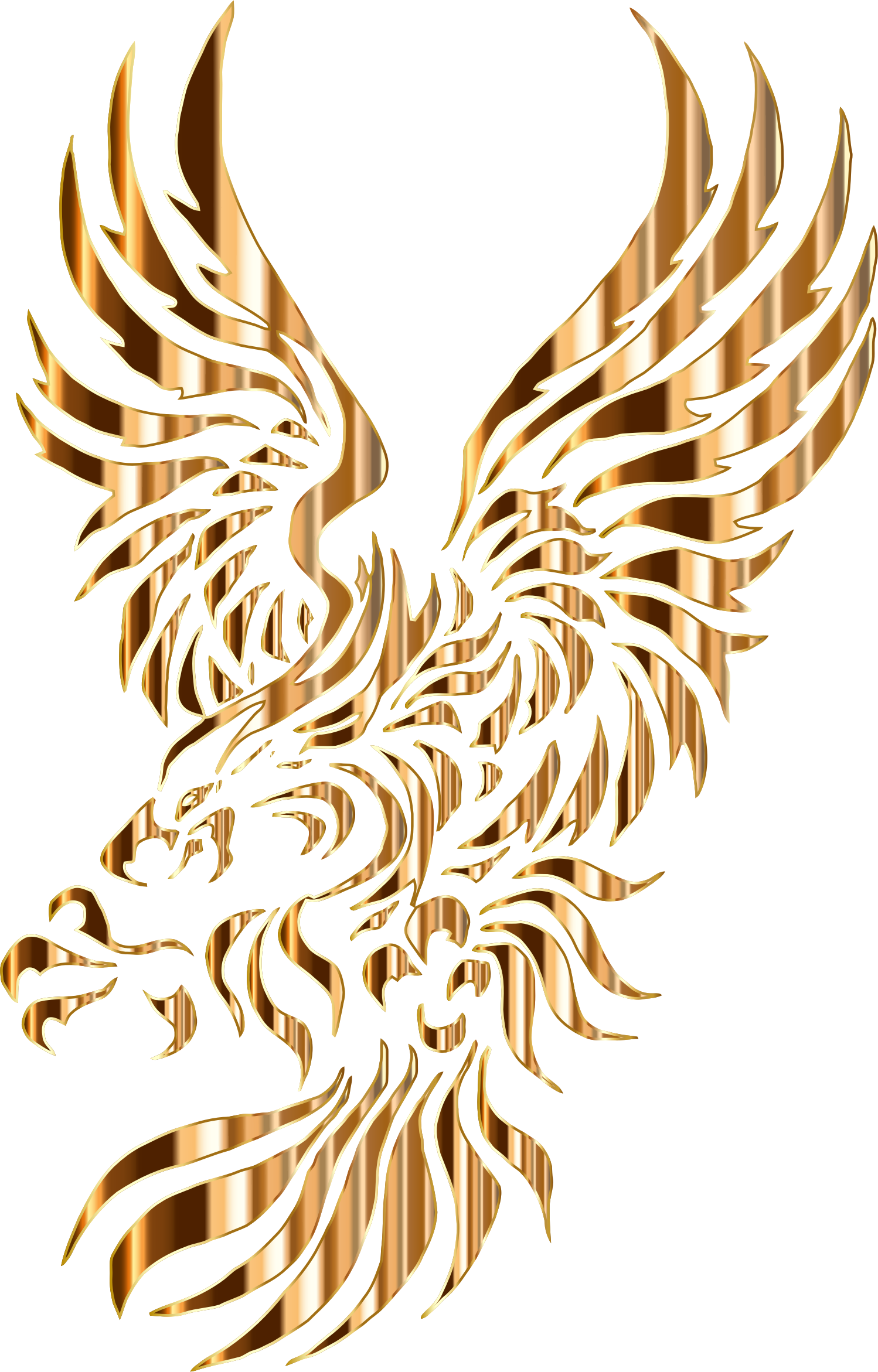 Chromatic Tribal Eagle 2 5 No Background by GDJ