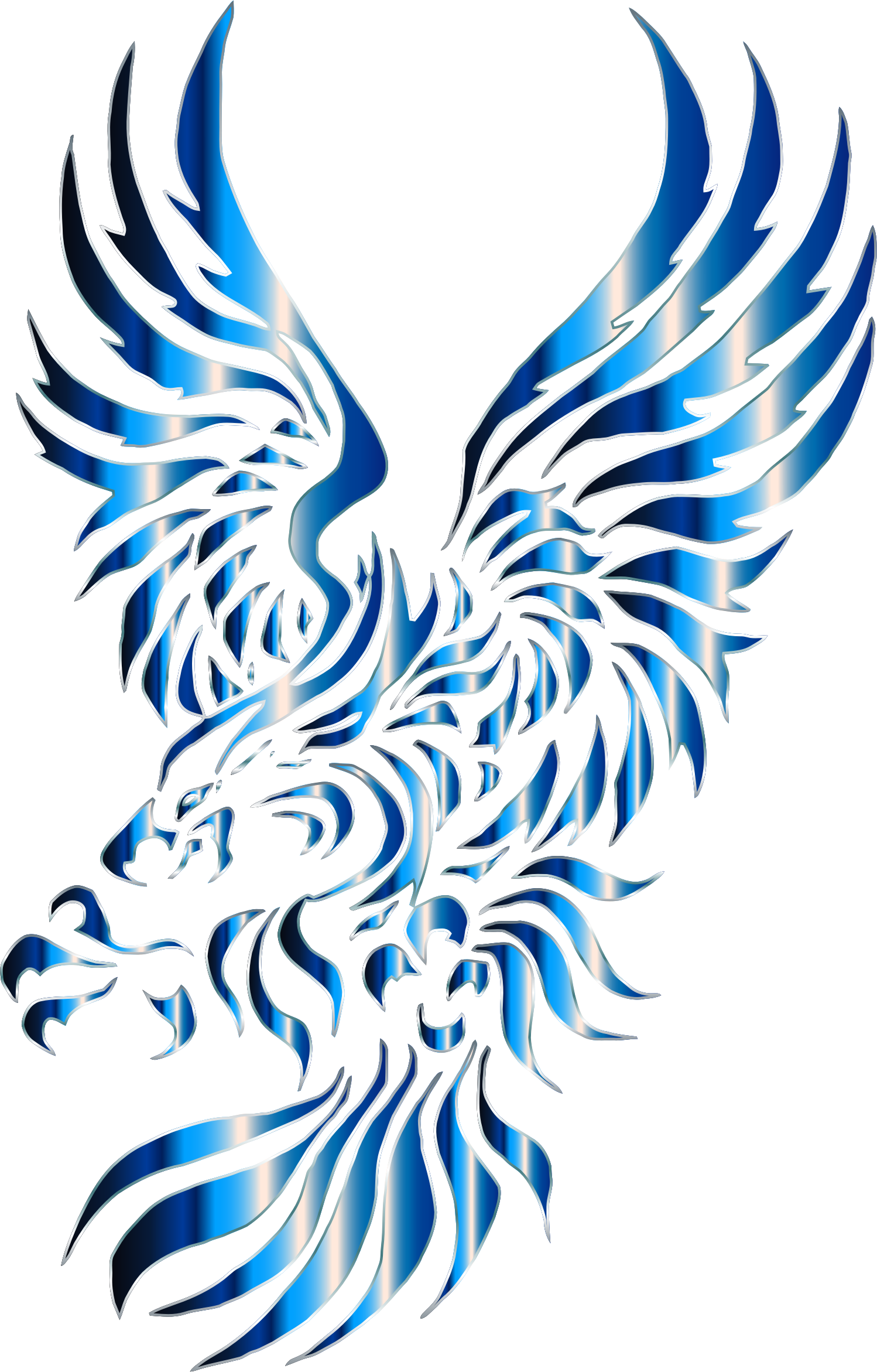 Chromatic Tribal Eagle 2 7 No Background by GDJ