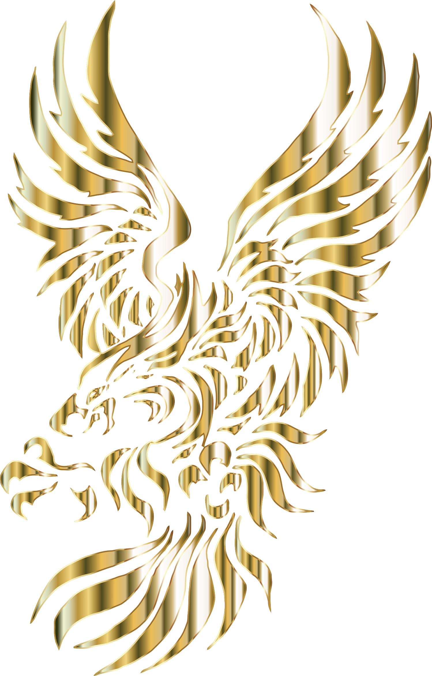 Chromatic Tribal Eagle 2 11 No Background by GDJ