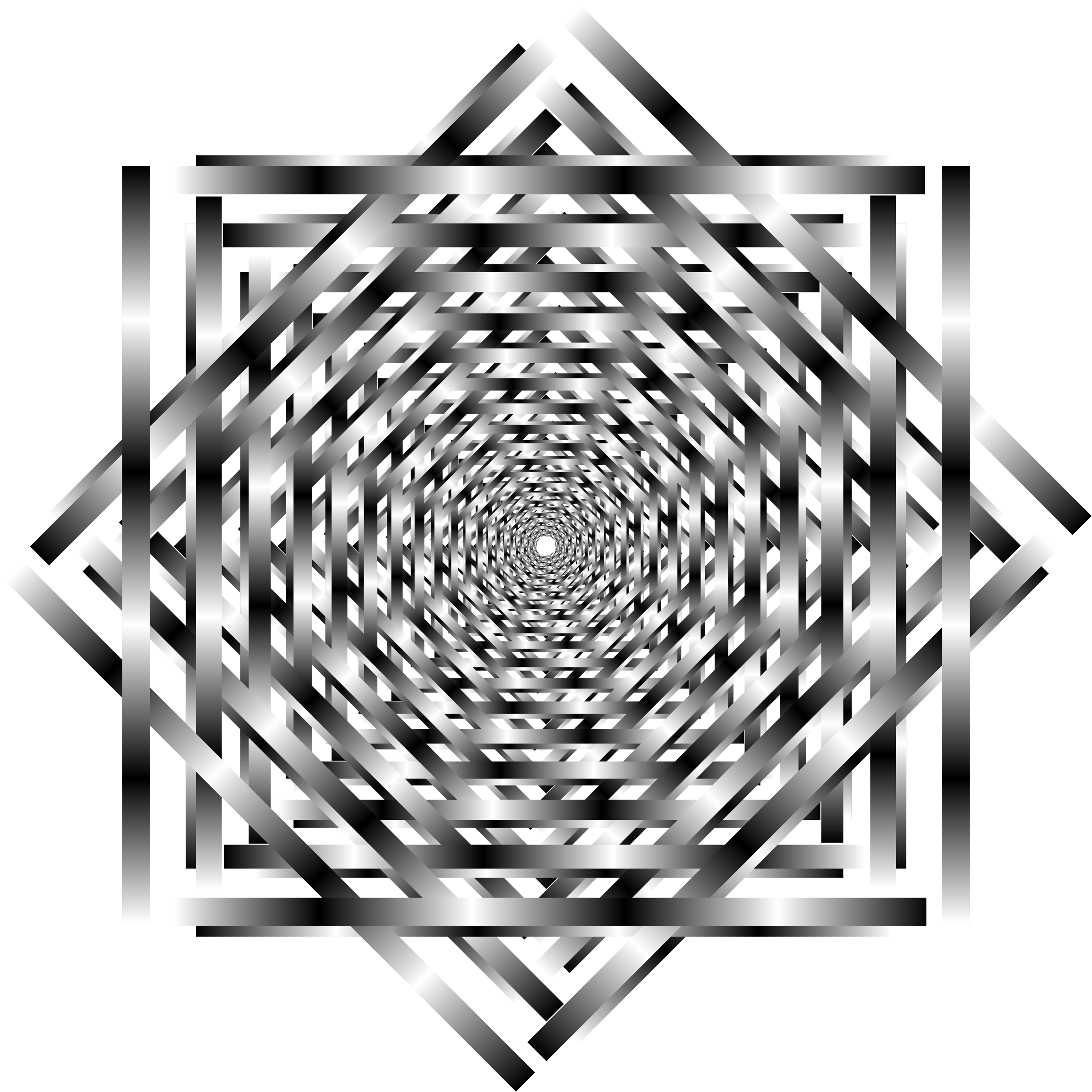 Interlocking Optical Illusion Vortex by GDJ