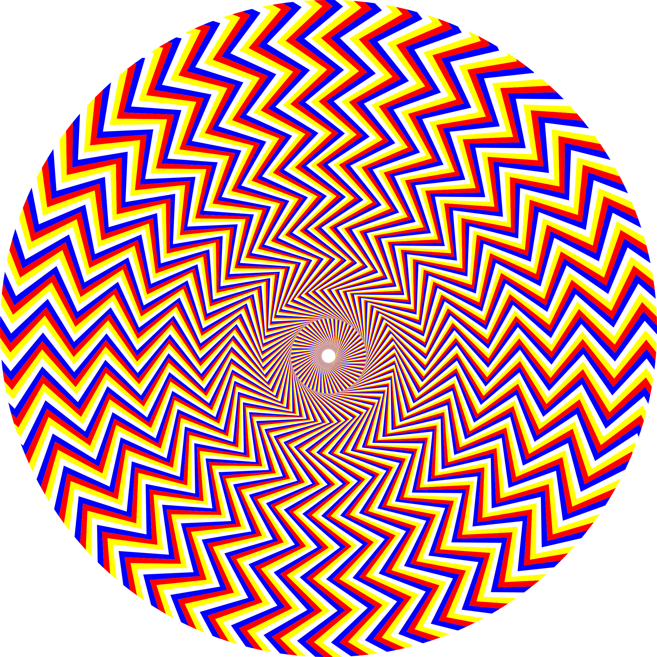 Fraser Spiral Illusion by GDJ