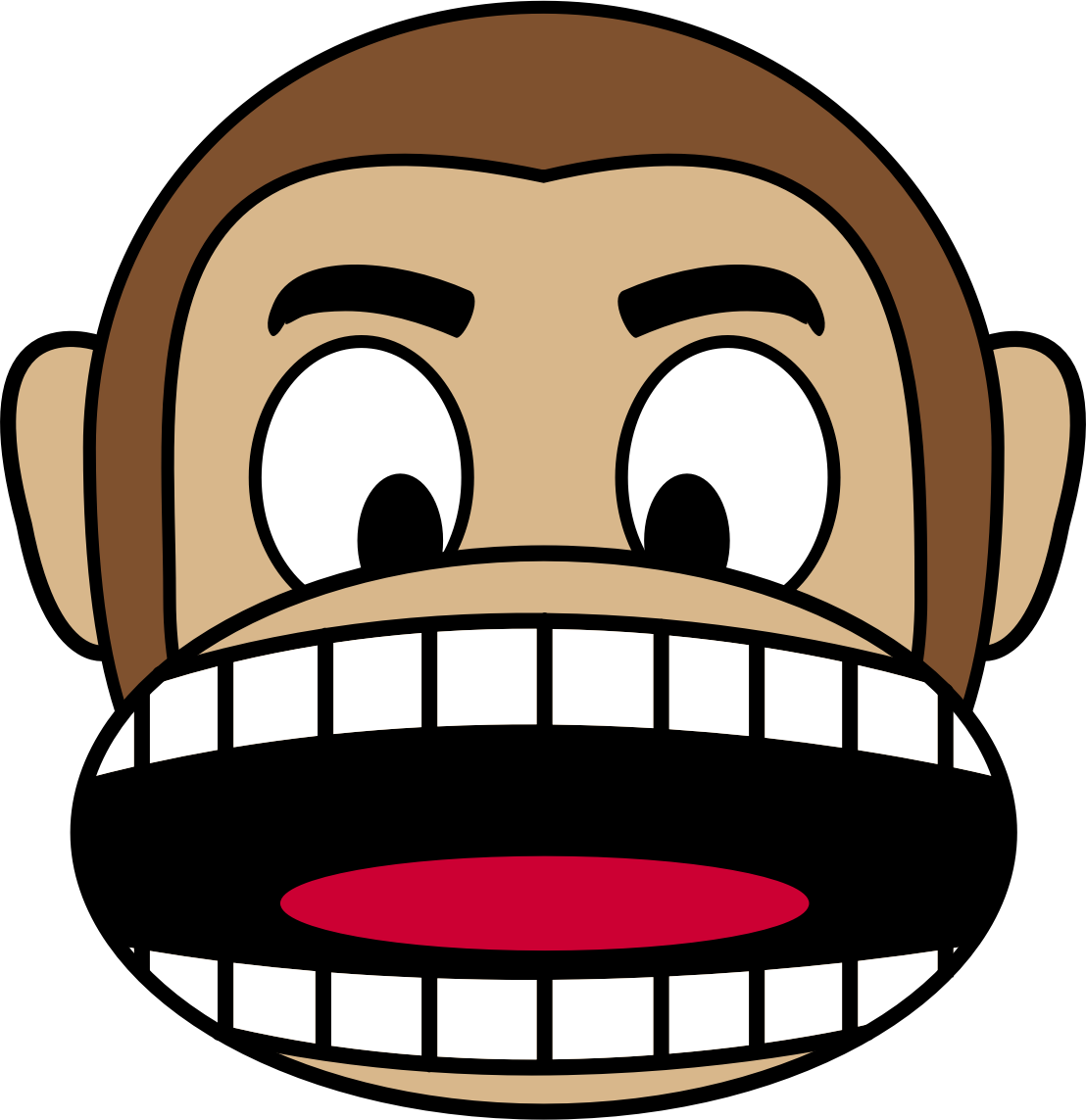 Monkey Emoji - Angry by buzzbomb