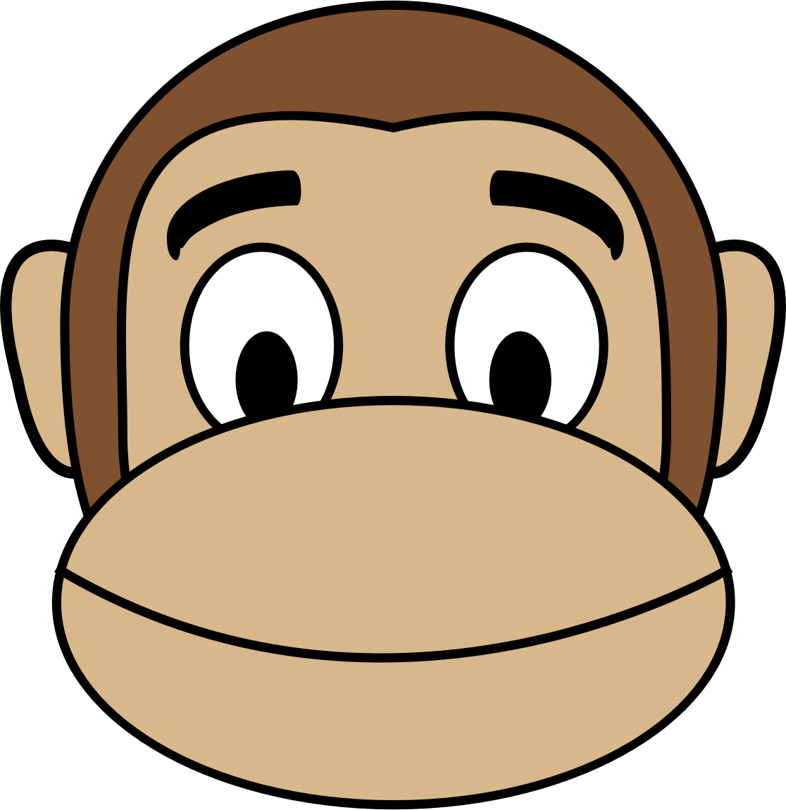 Monkey Emoji - Smile by buzzbomb