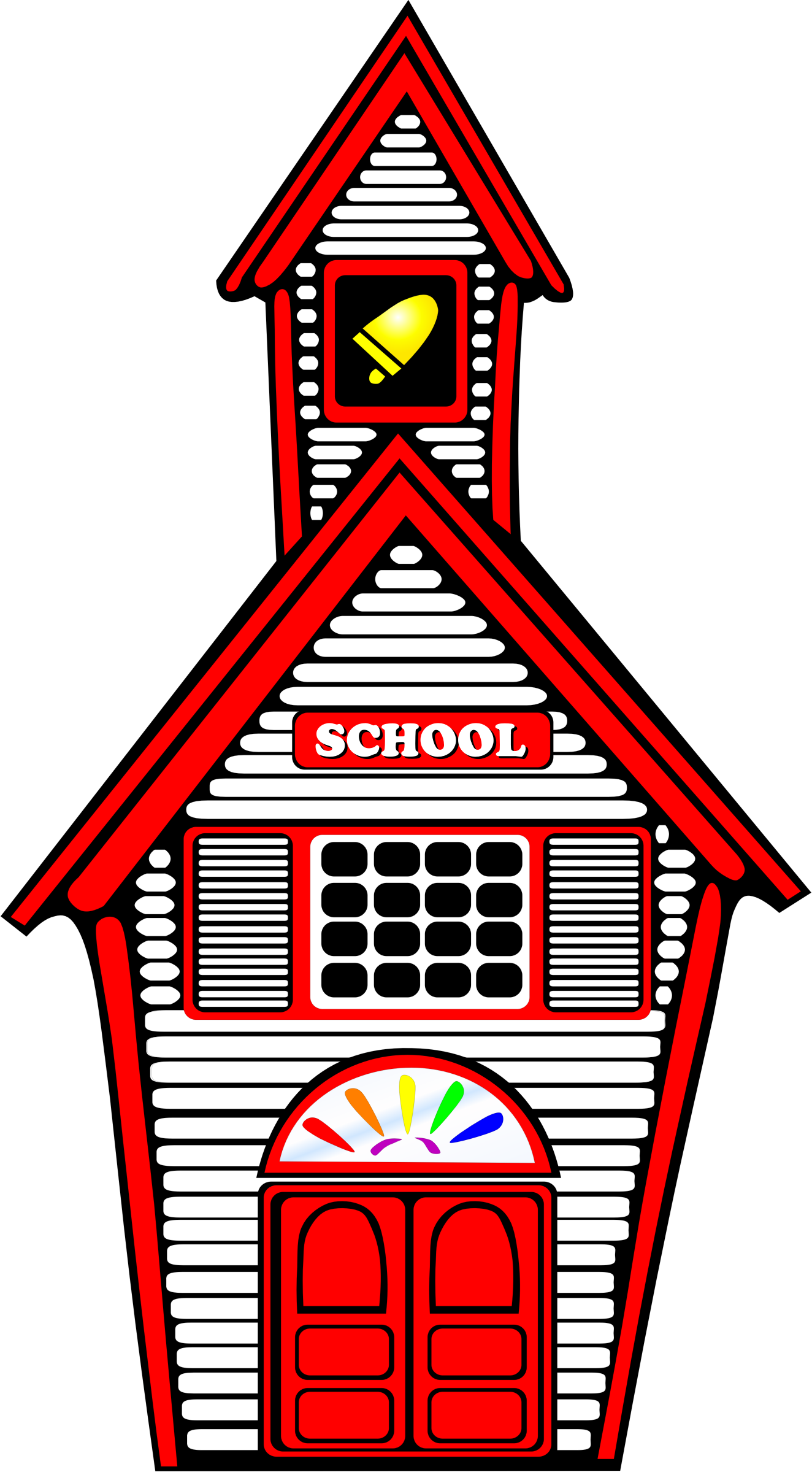 White Schoolhouse by amcolley