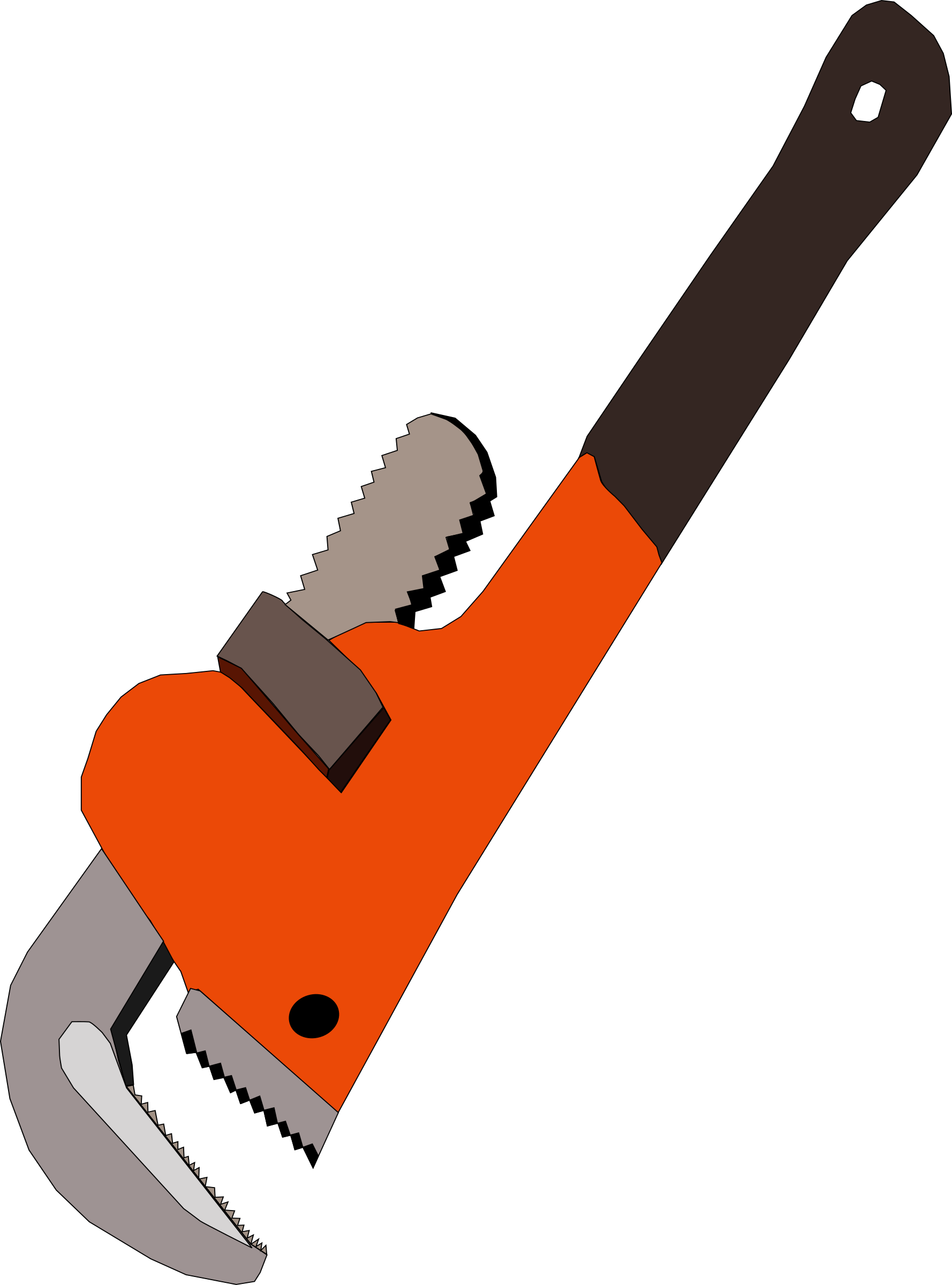 Pipe wrench by Machovka