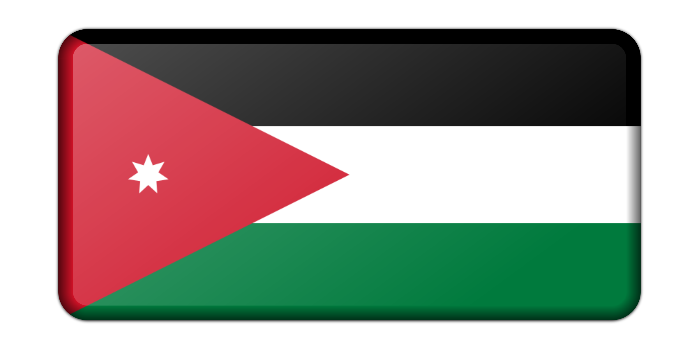 Jordan flag (bevelled) by Firkin
