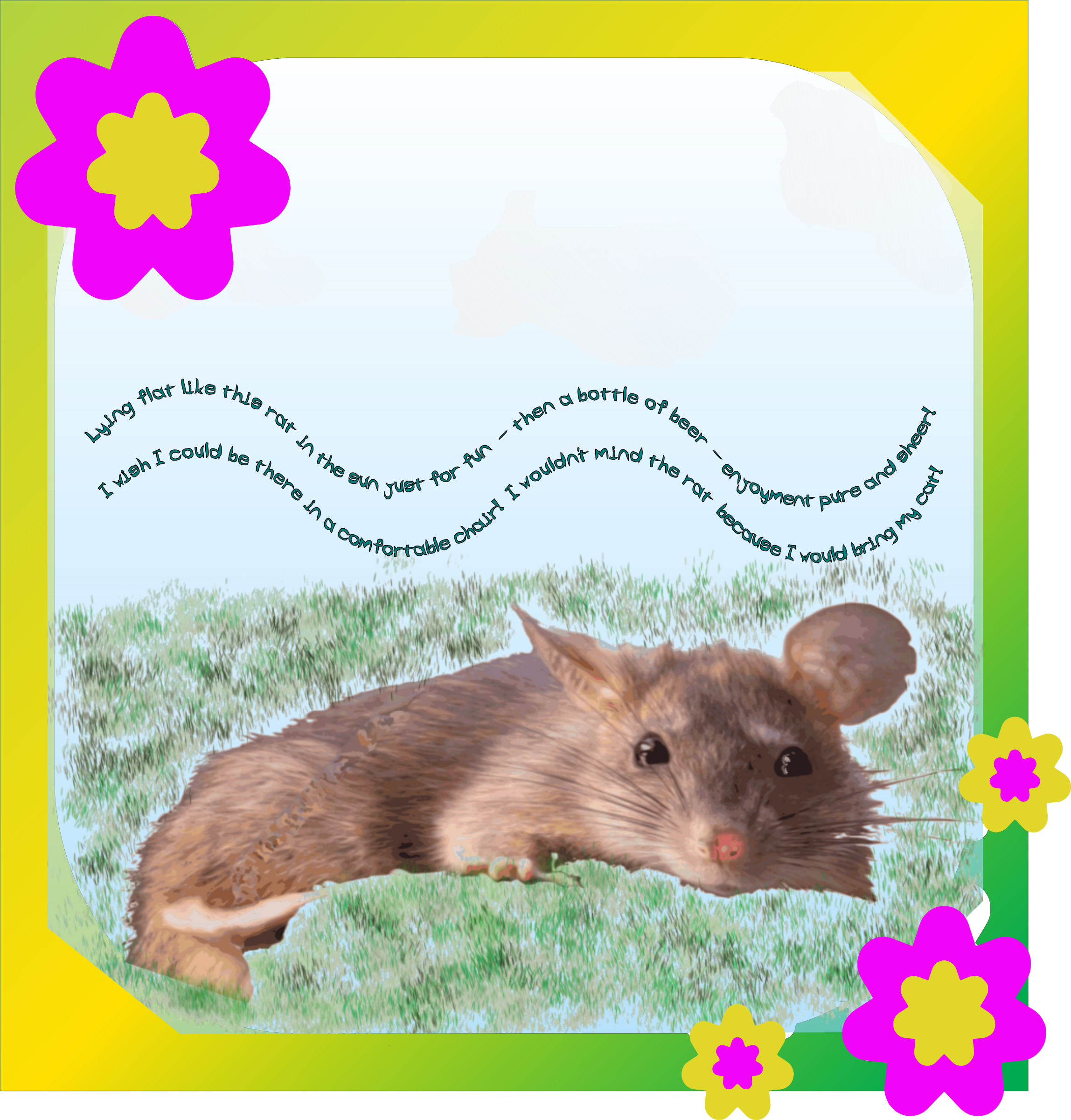 Disturbed Rat Idyll Framed by Carmencita1