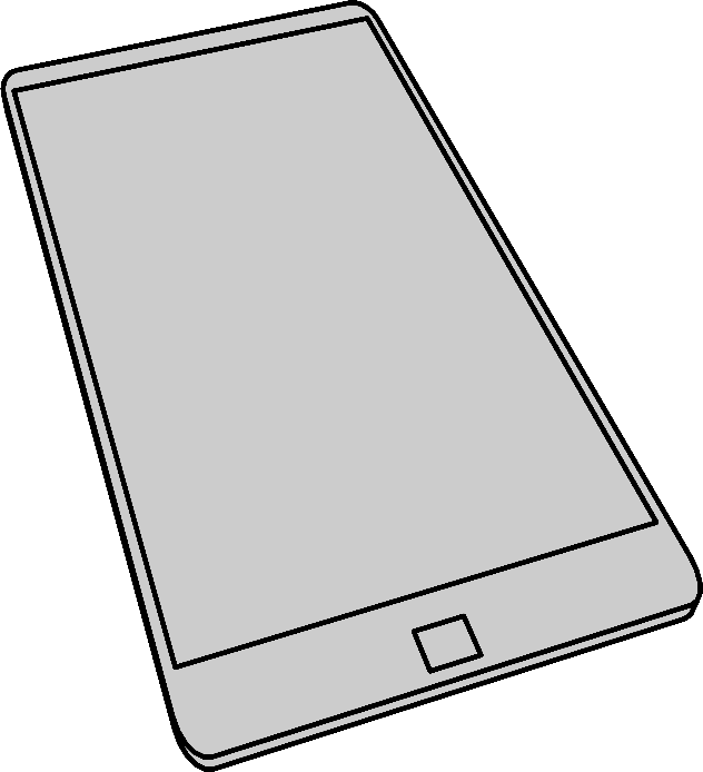 A simple smartphone by photofree.ga