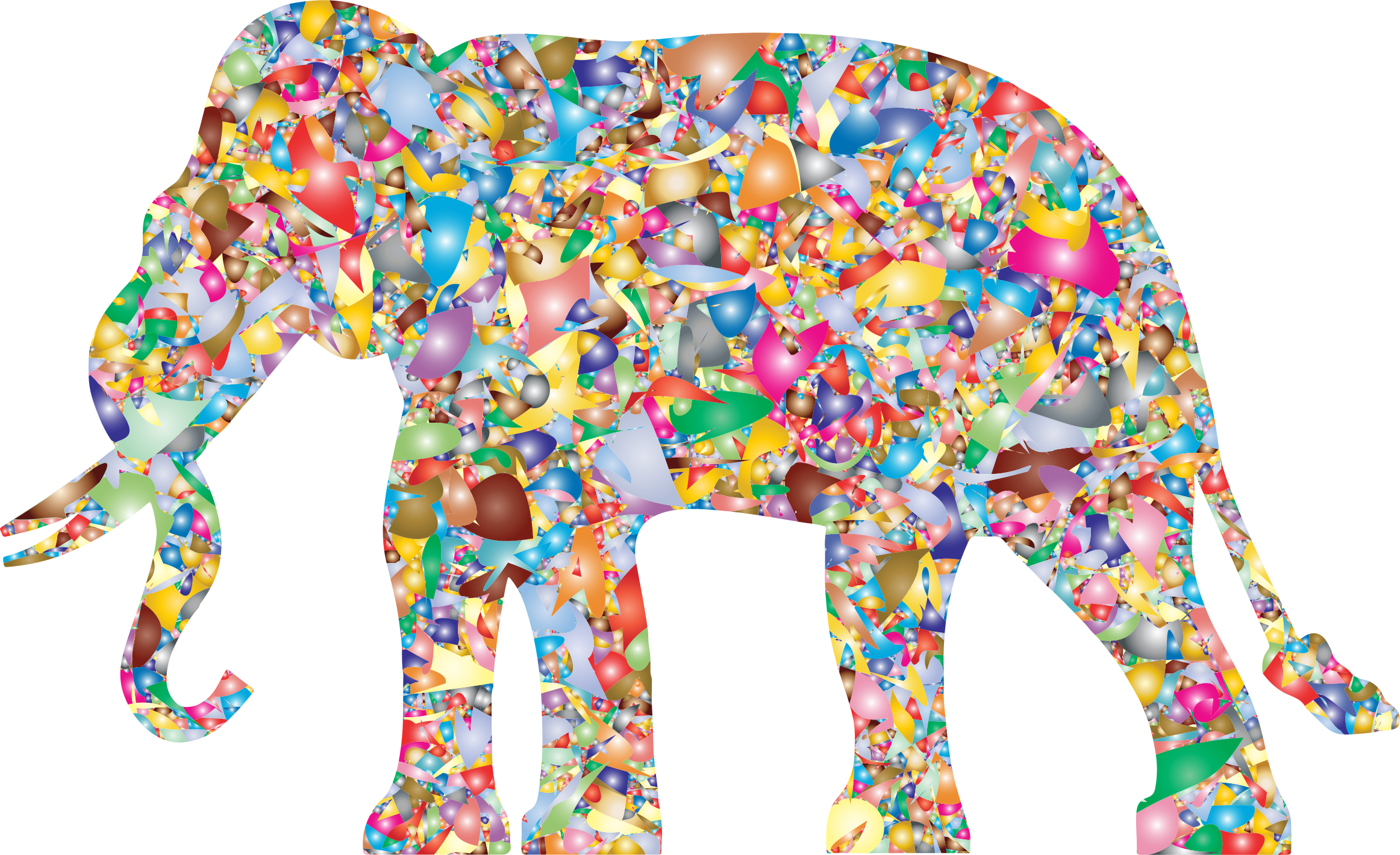 Modern Art Elephant Reactivated by GDJ