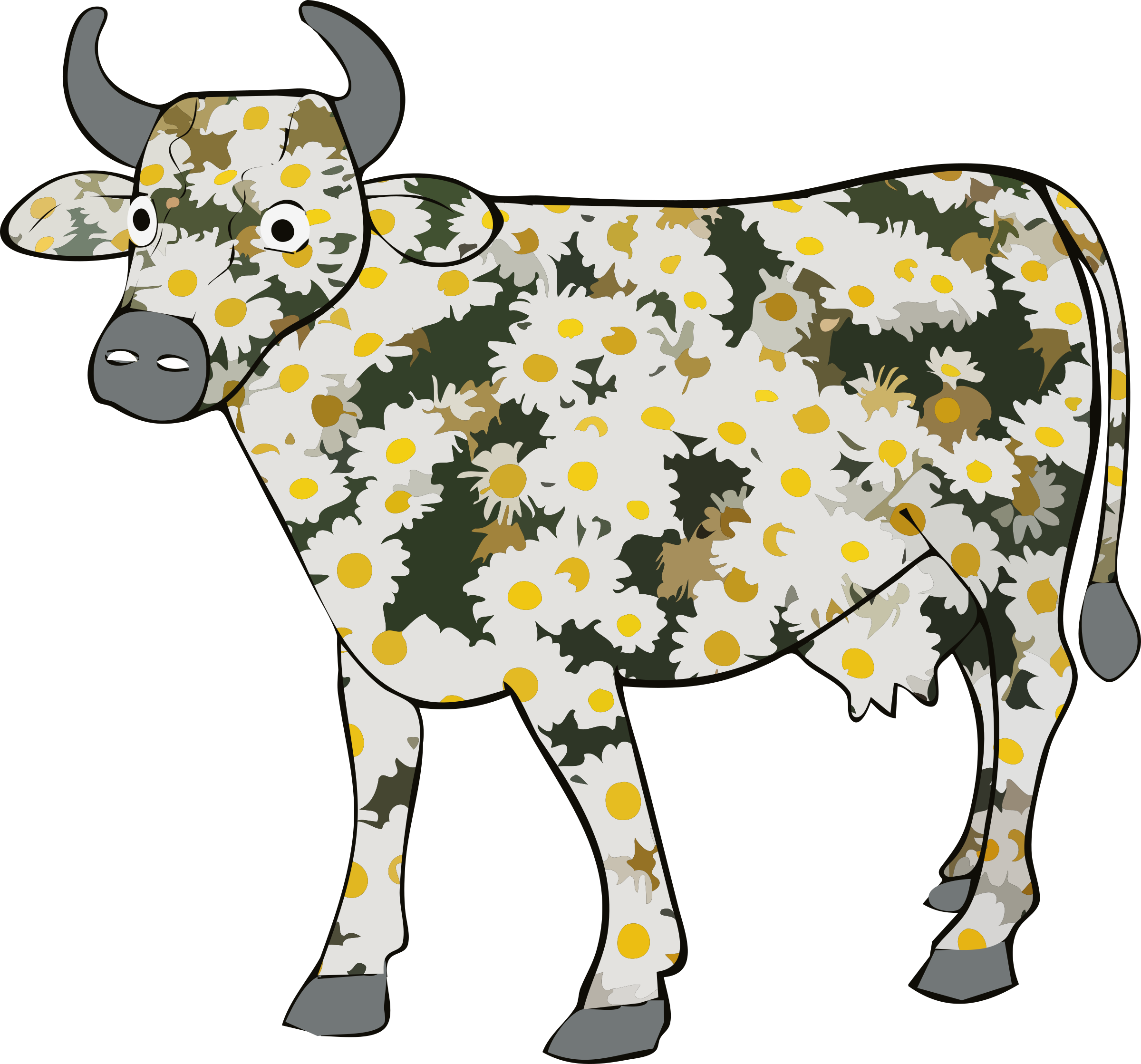 Daisy the cow by Firkin