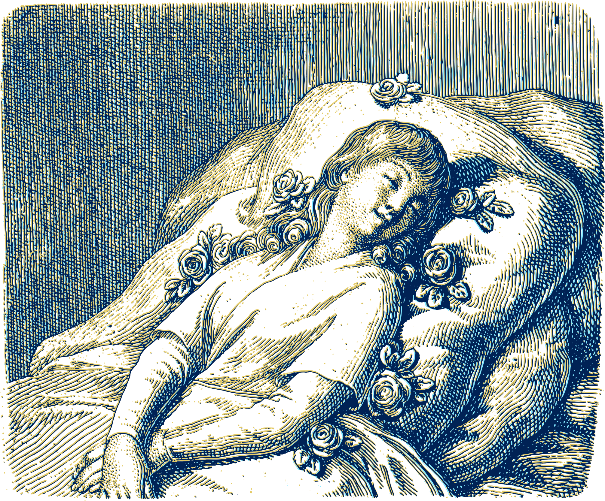 Young woman sleeping 02 by Karolus_BR