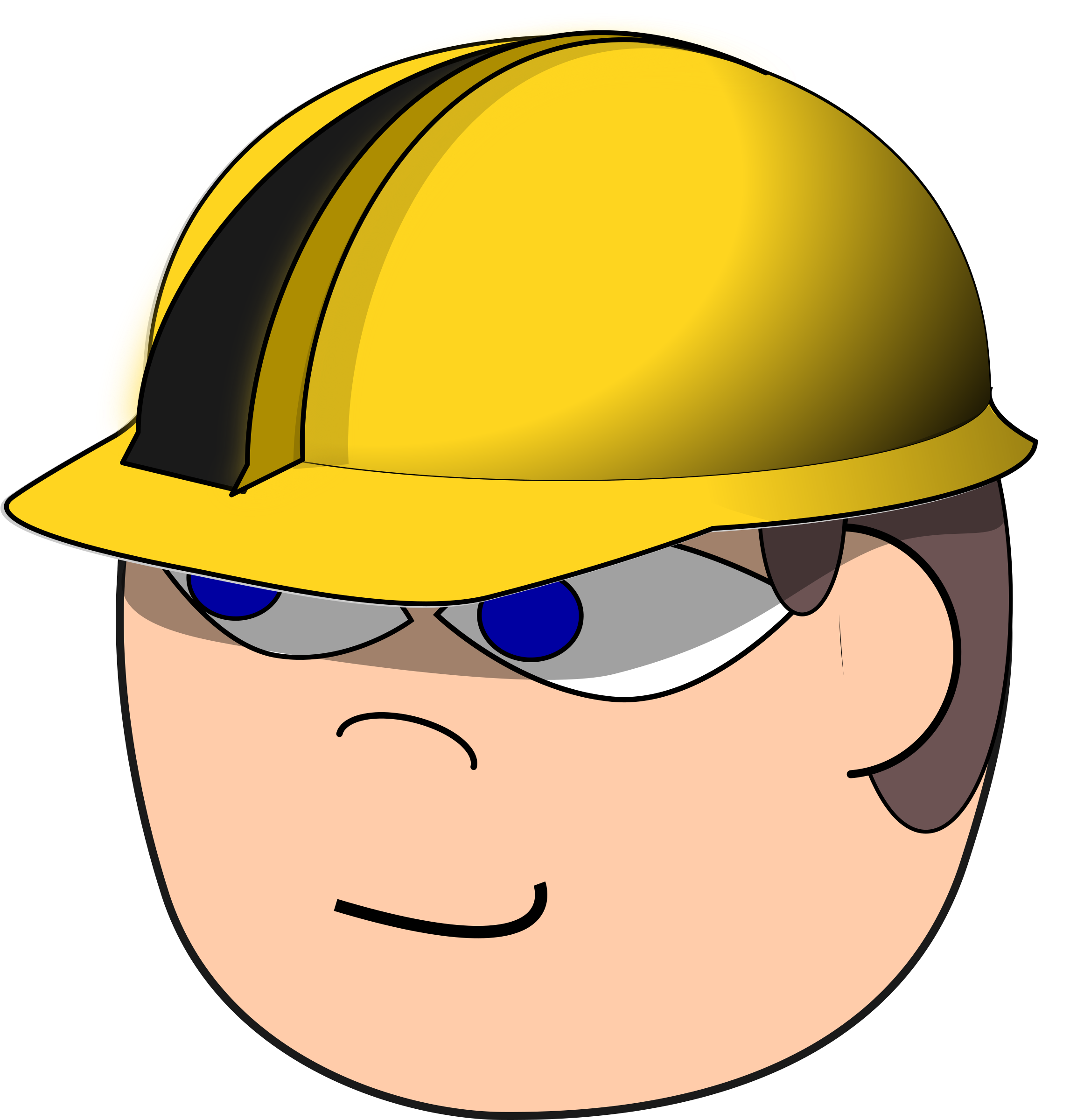 Construction Worker by ginkgo