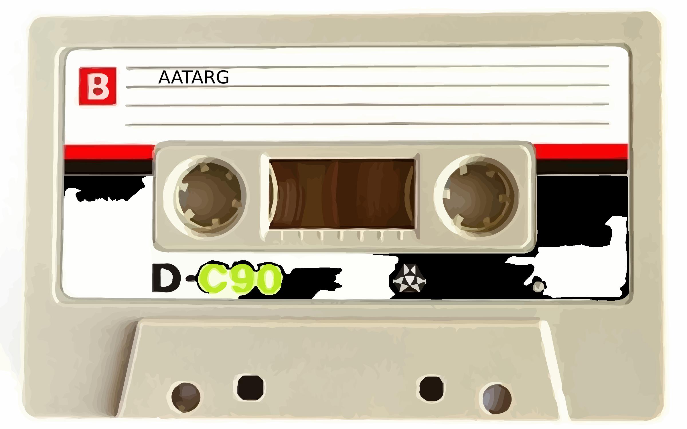 Clipart - Cassette