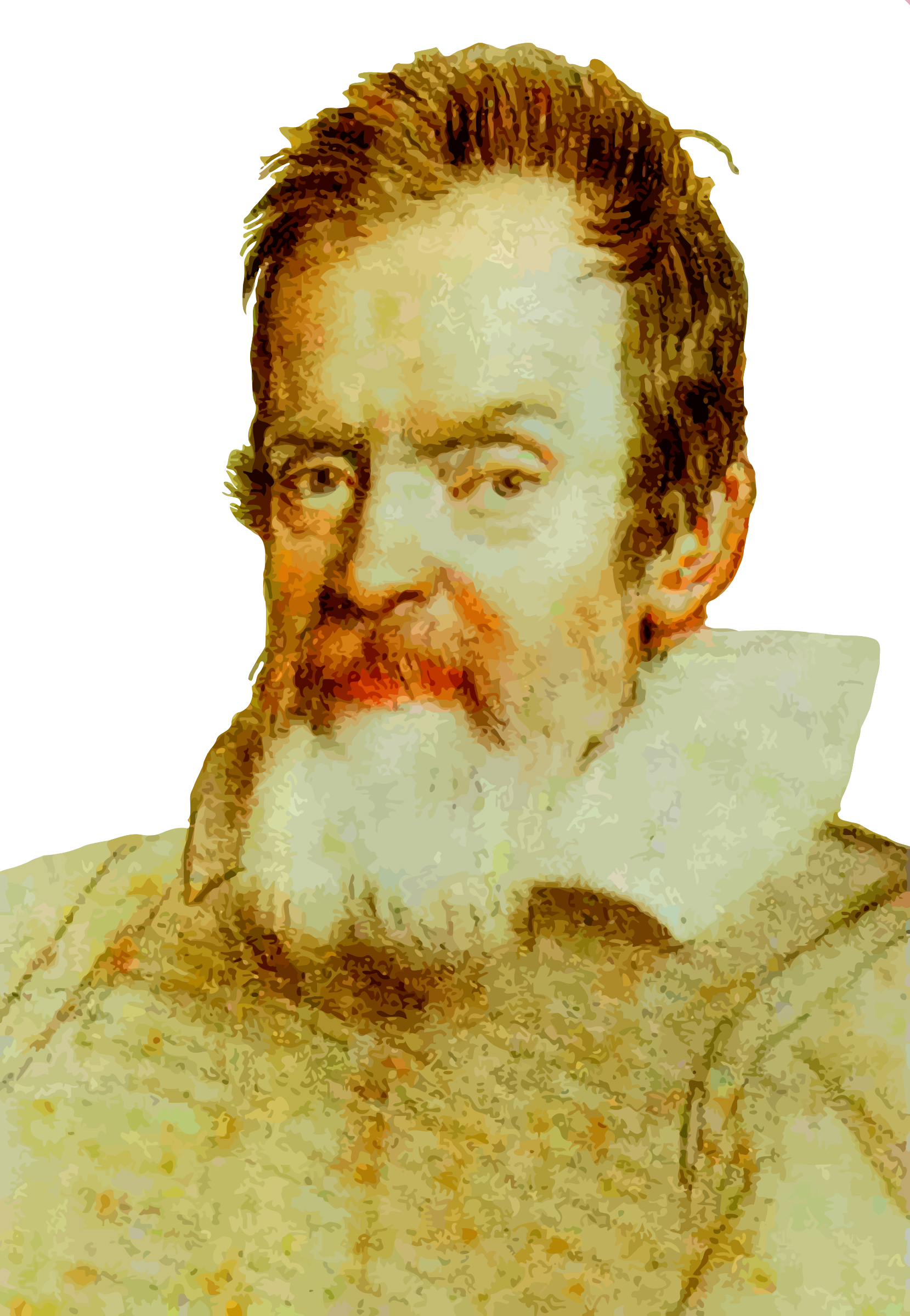 Galileo Galilei (colour) by Firkin