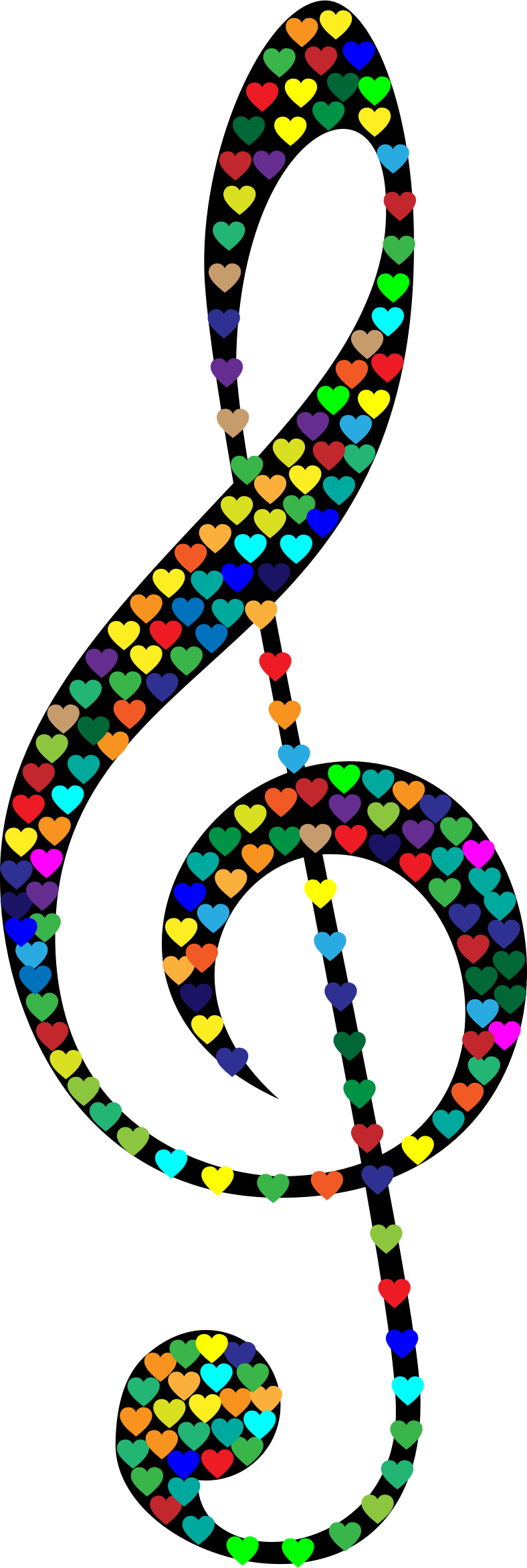 Prismatic Clef Hearts by GDJ