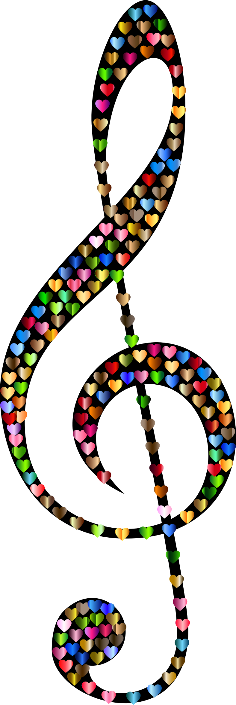 Prismatic Clef Hearts 4 by GDJ