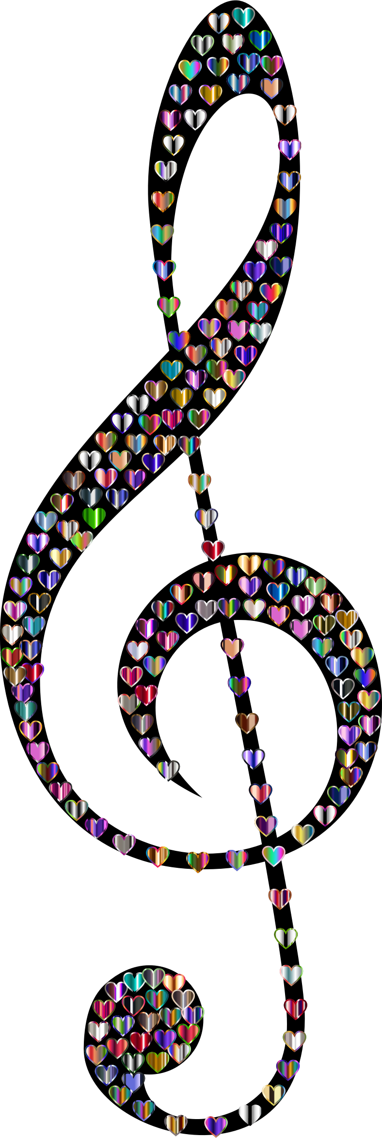 Prismatic Clef Hearts 6 by GDJ