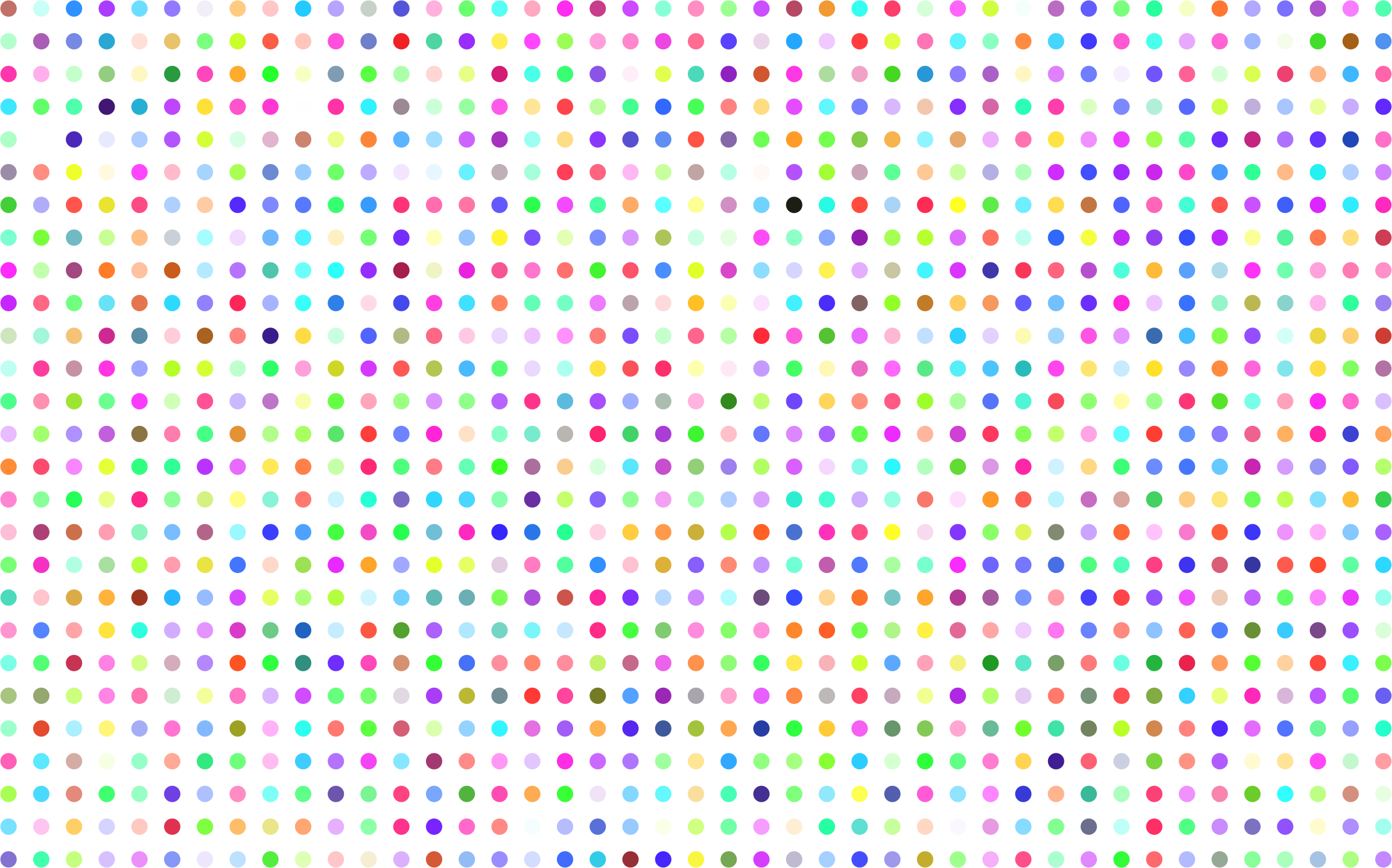Prismatic Polka Dots No Background by GDJ