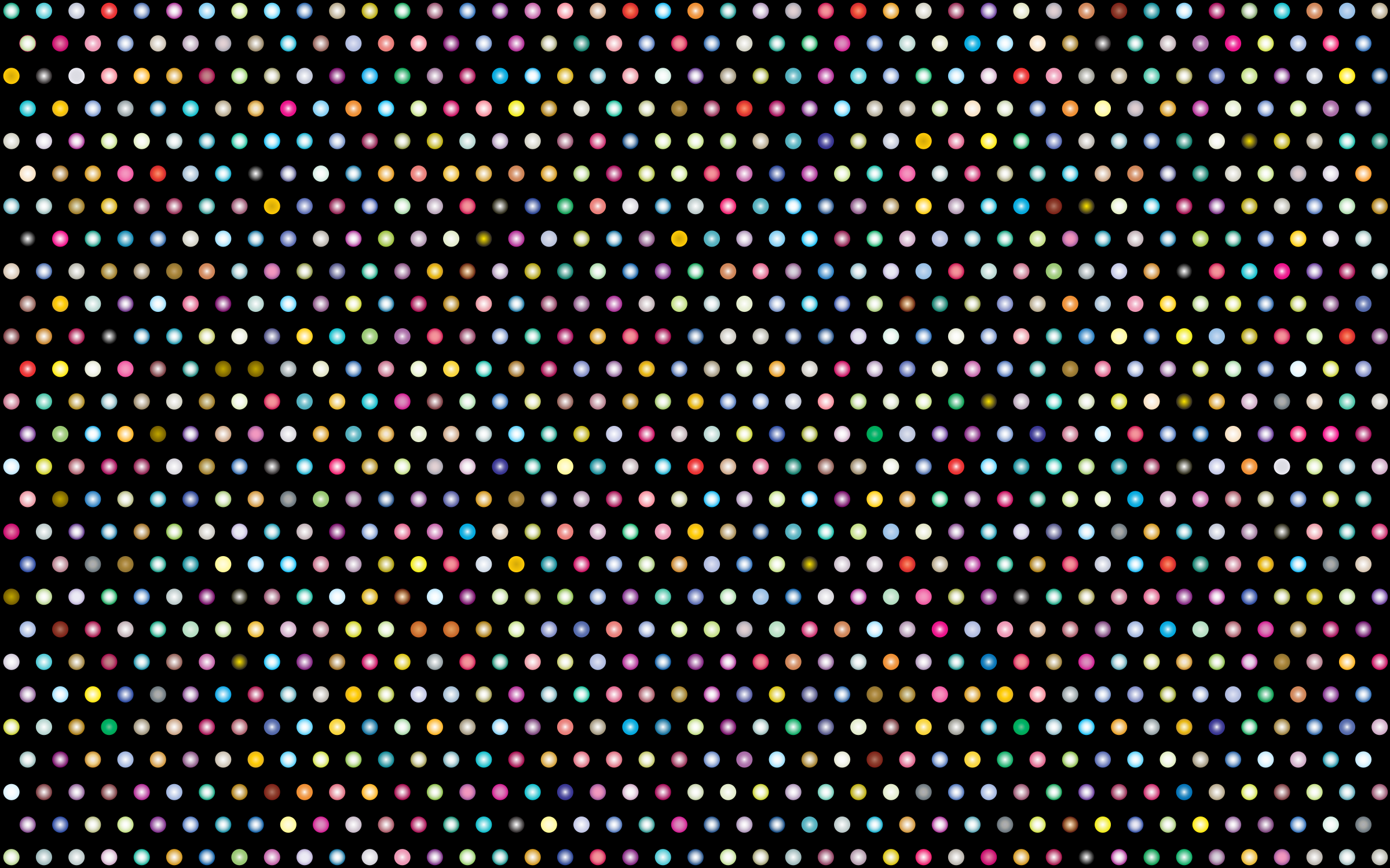 Prismatic Polka Dots Mark II 2 by GDJ