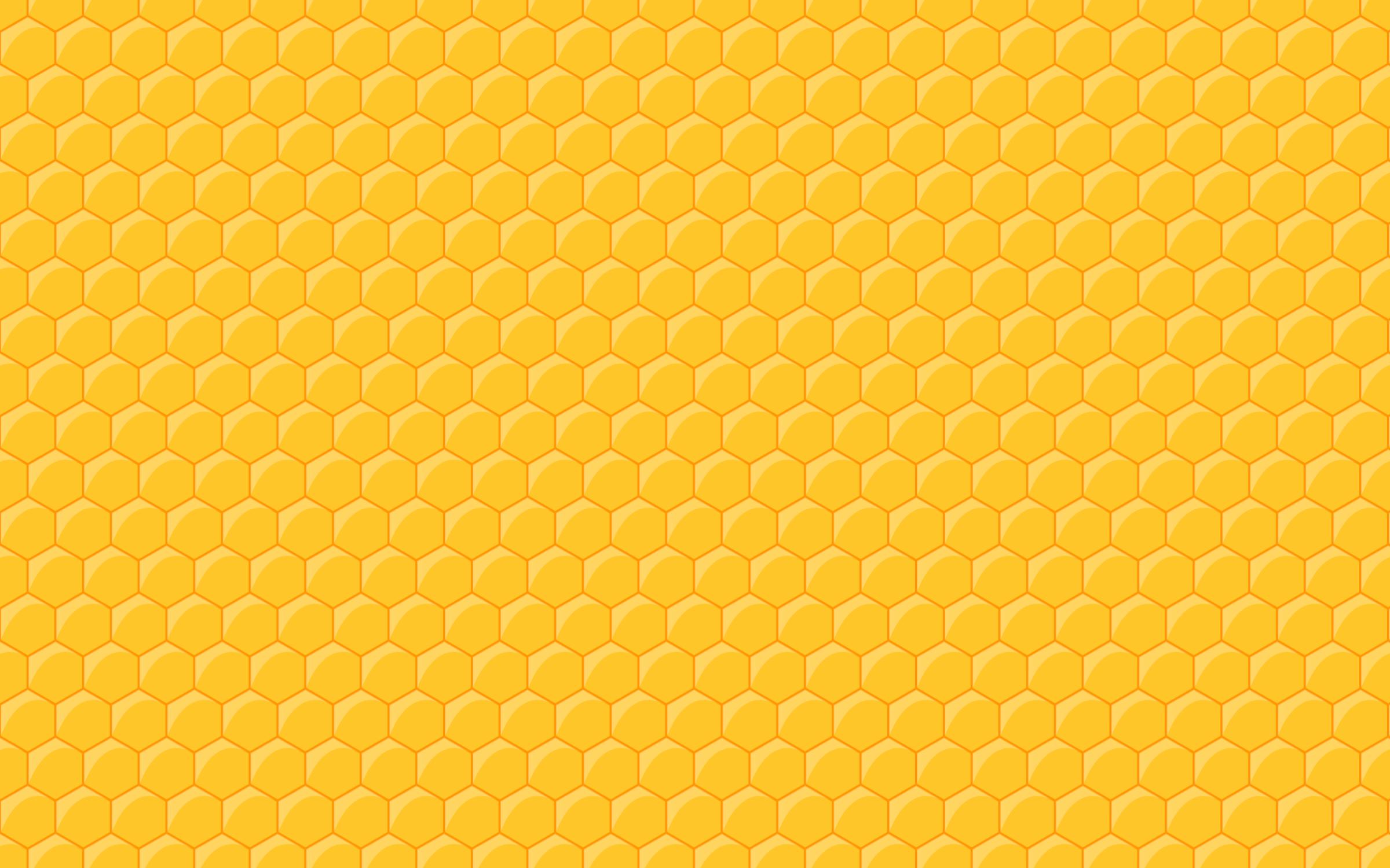 Clipart - Seamless Honeycomb Pattern