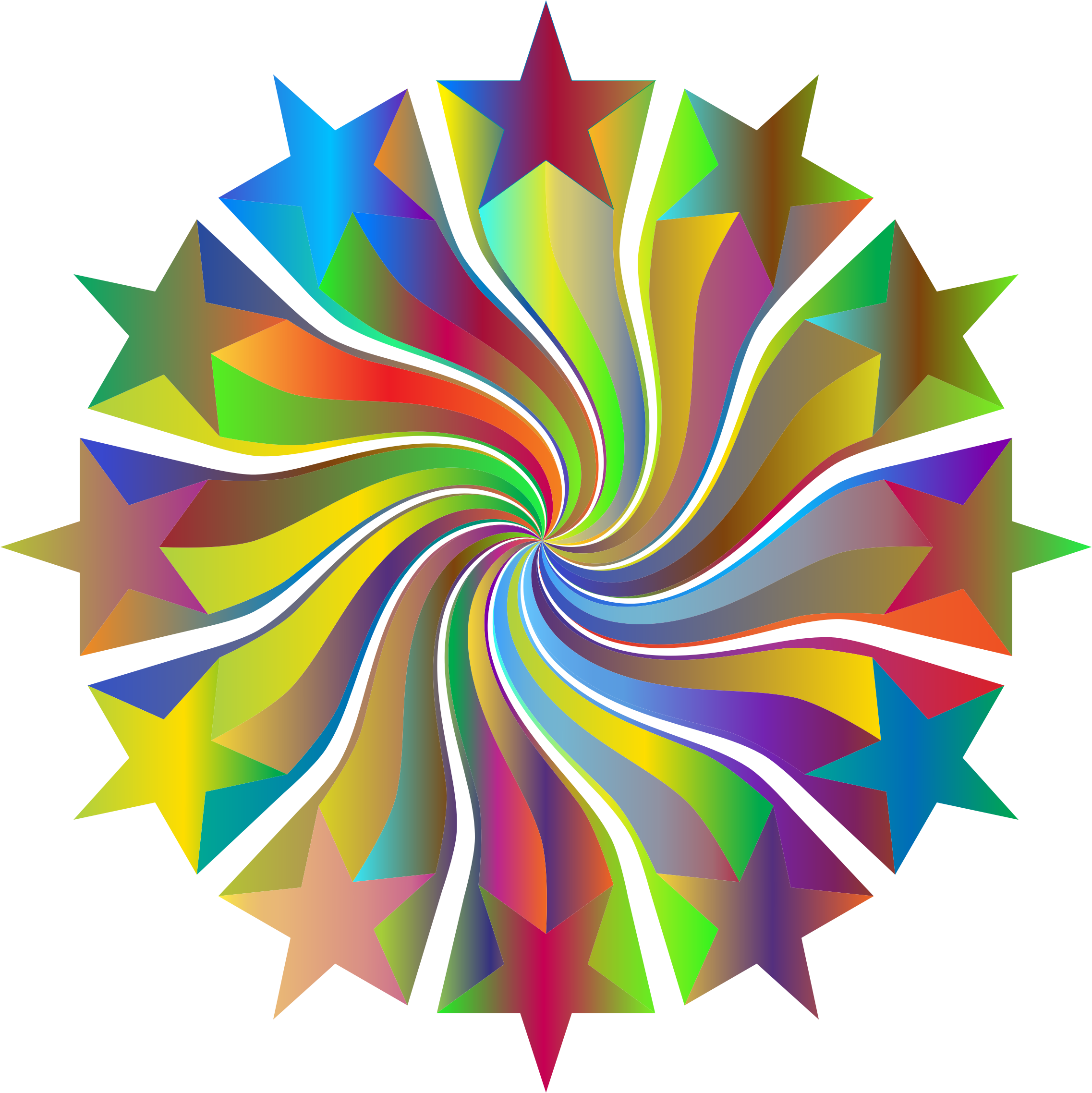 Prismatic Starburst Vortex 3 by GDJ