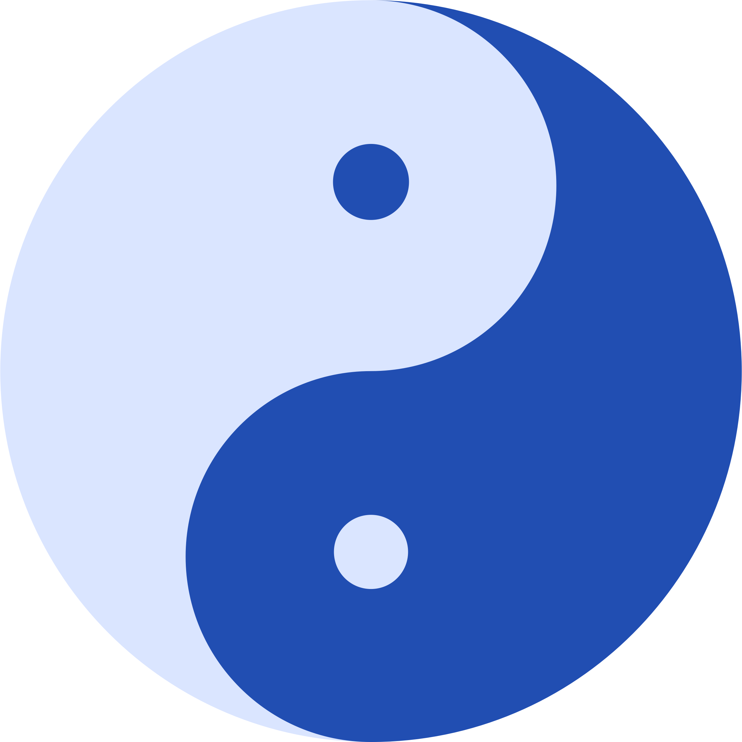 Blue Ying and Yang by AdamStanislav
