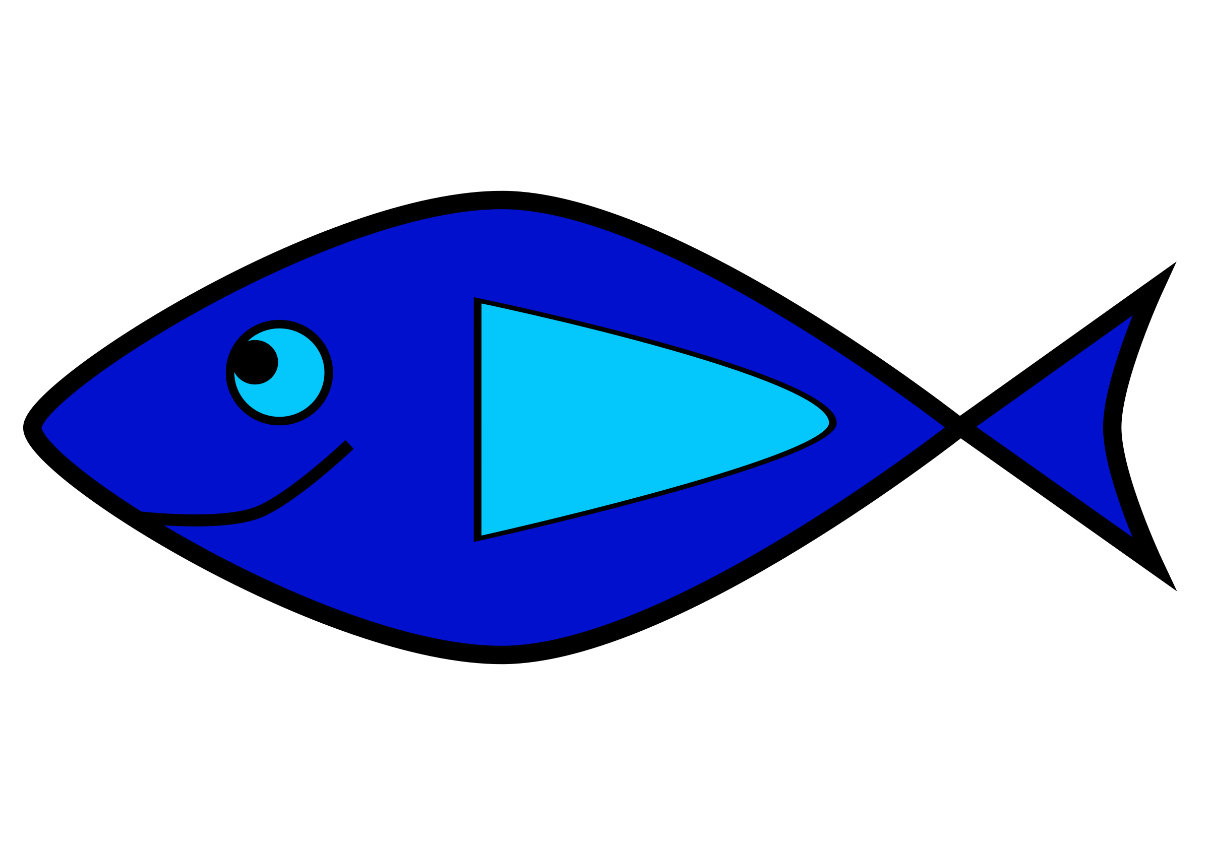 Simple fish 2 by sincrosergio