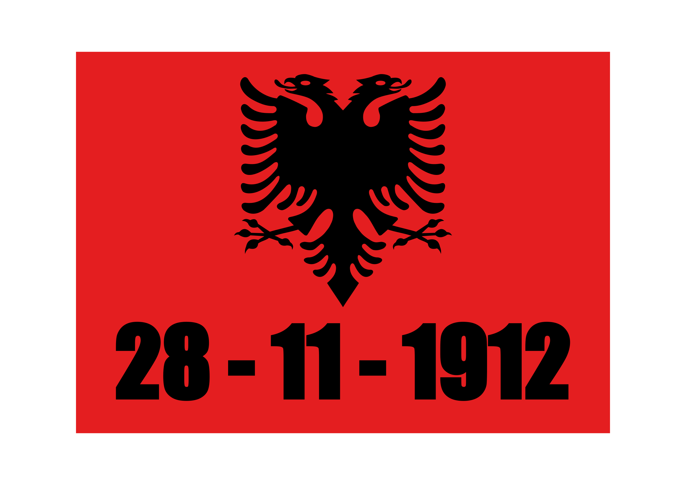 Albania - The day of Independence by shqiponja
