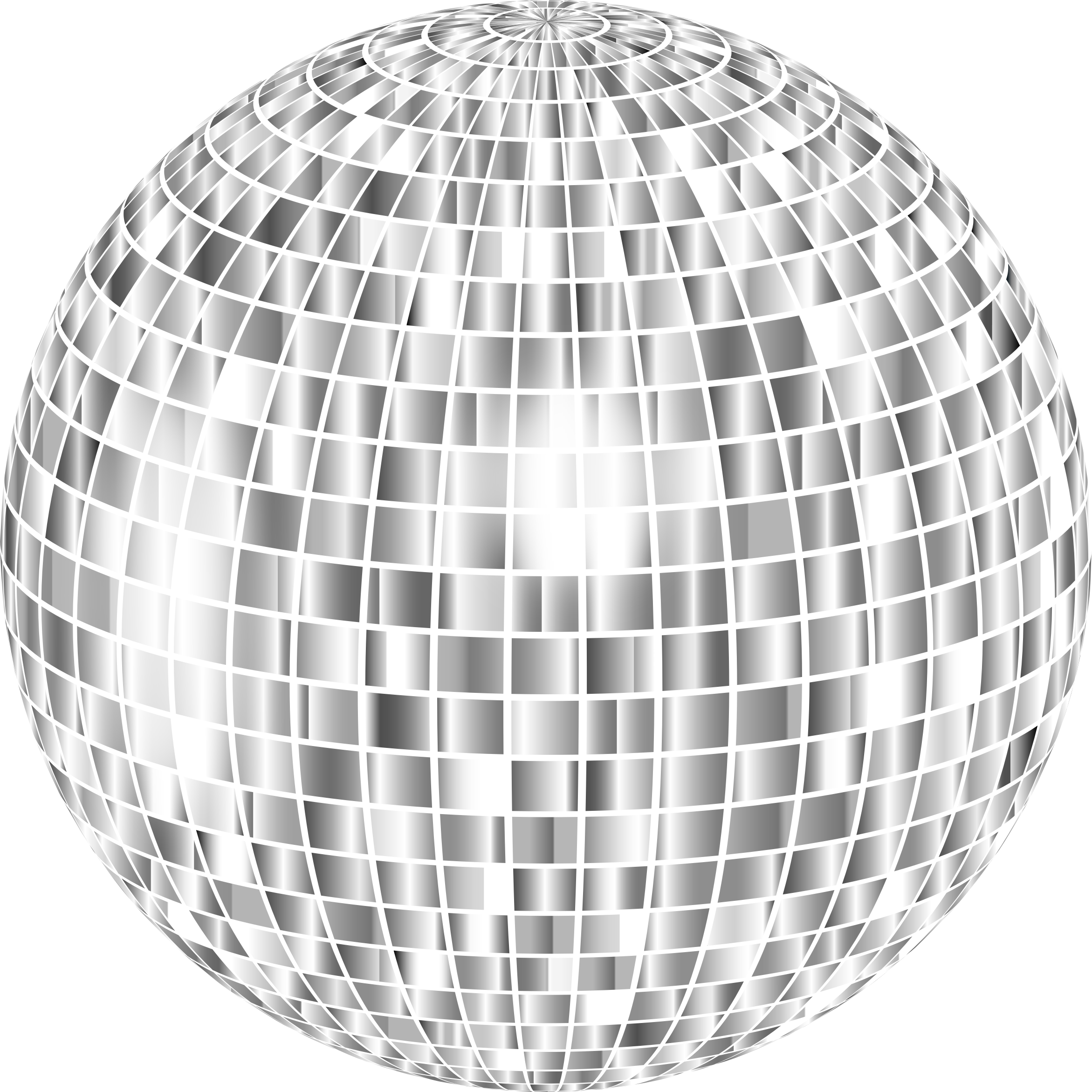 Glimmering Disco Ball Enhanced 2 No Background by GDJ