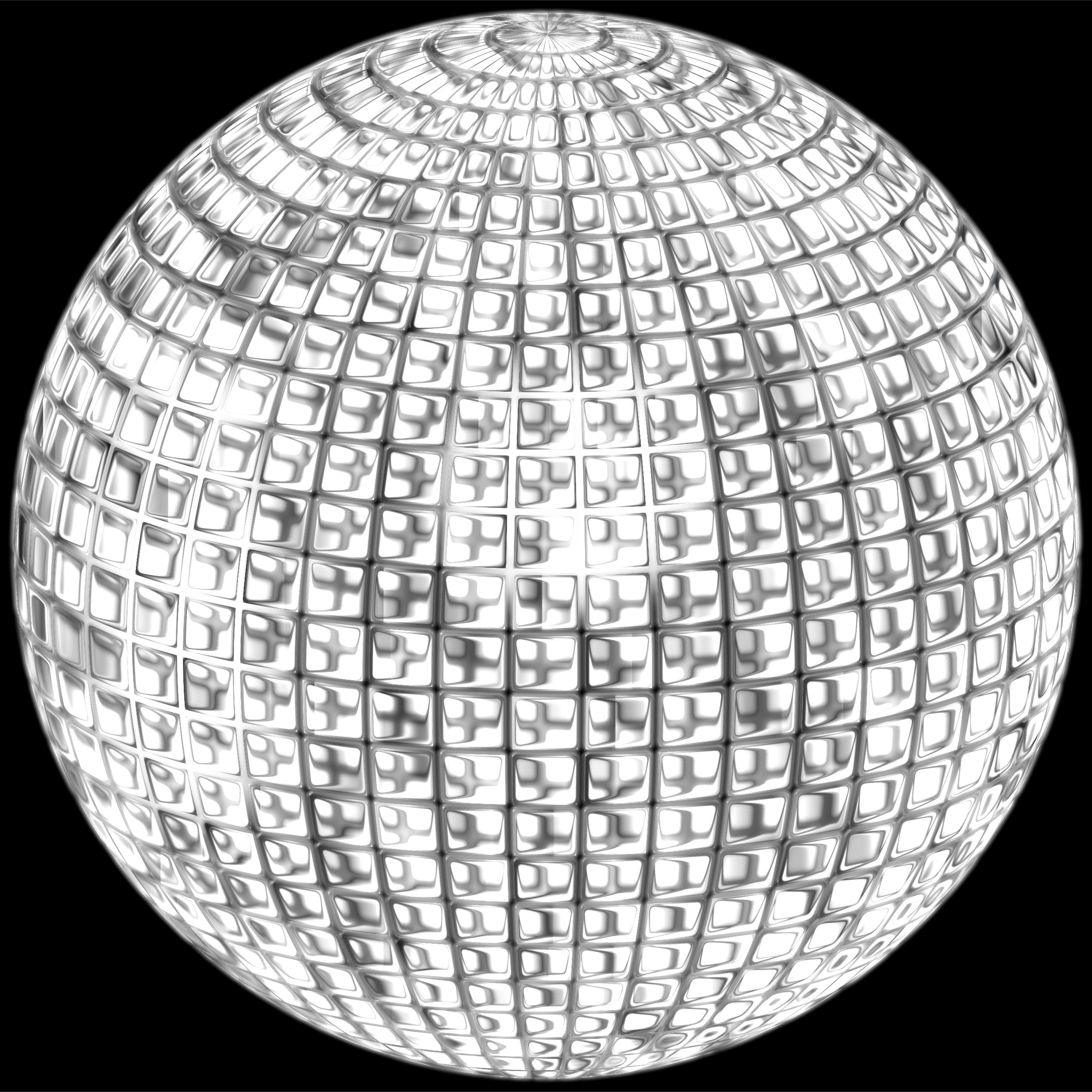 Glimmering Disco Ball Enhanced 4 by GDJ