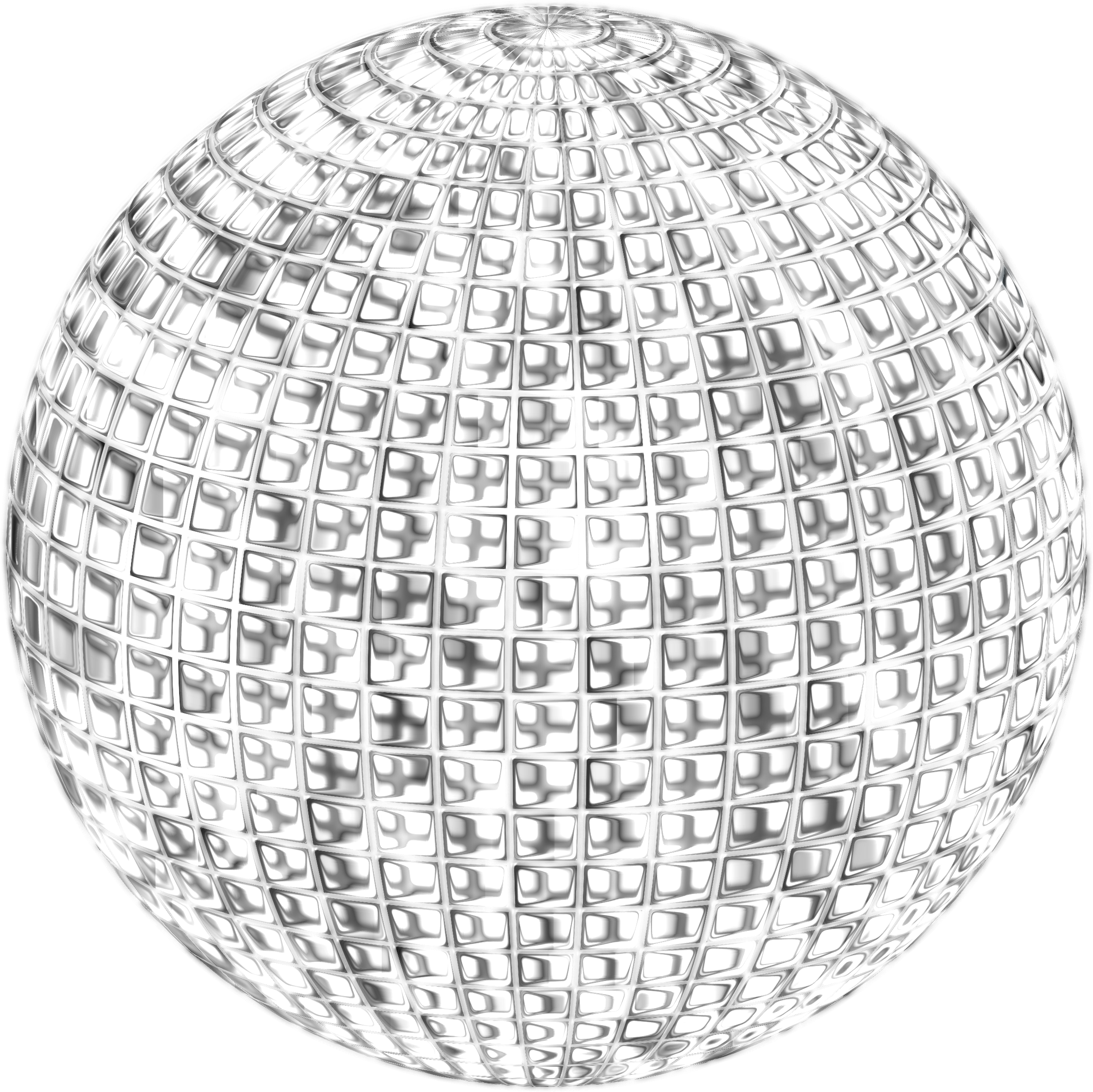 Glimmering Disco Ball Enhanced 4 No Background by GDJ