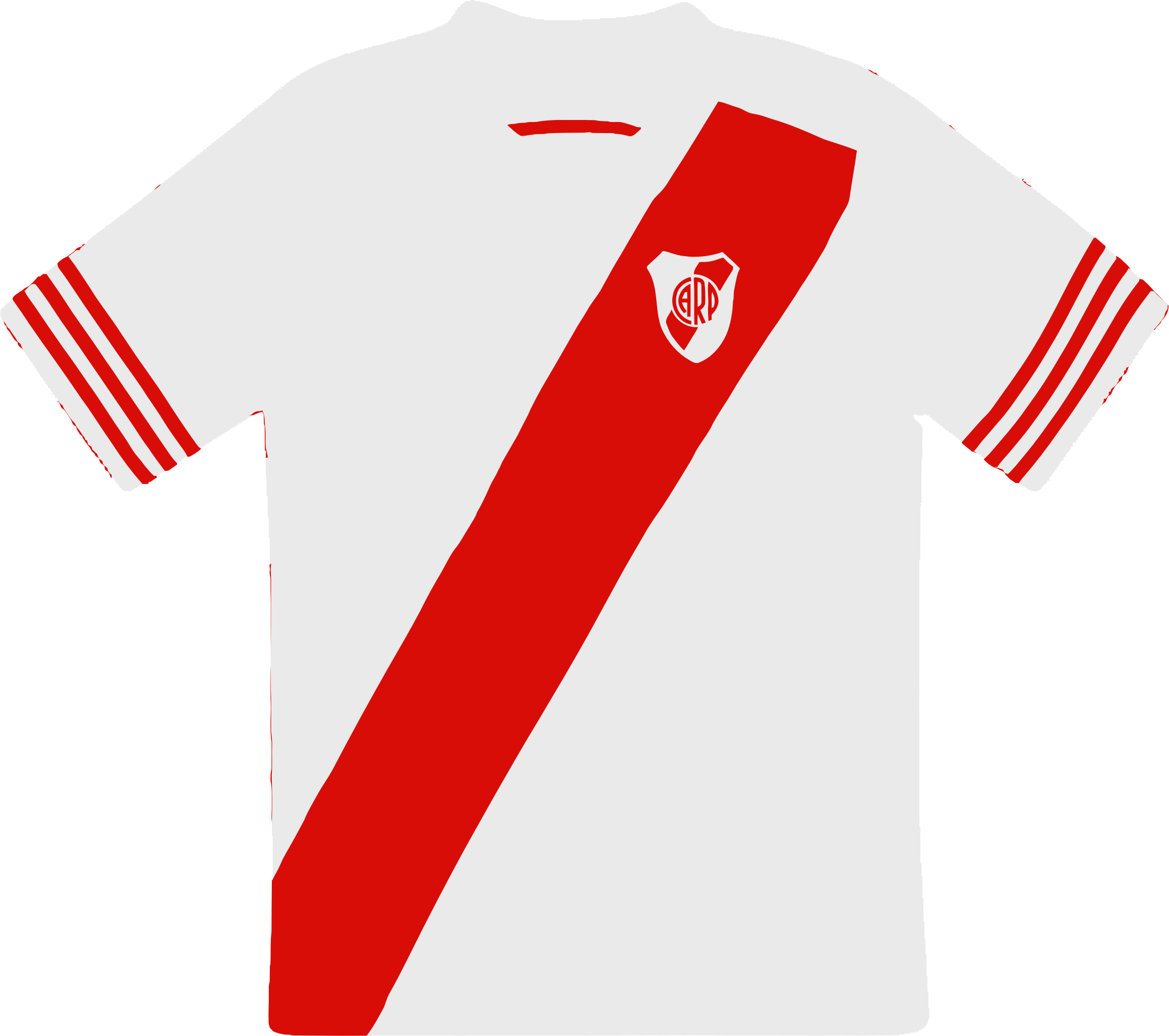 River Plate Camiseta  by TAA1102