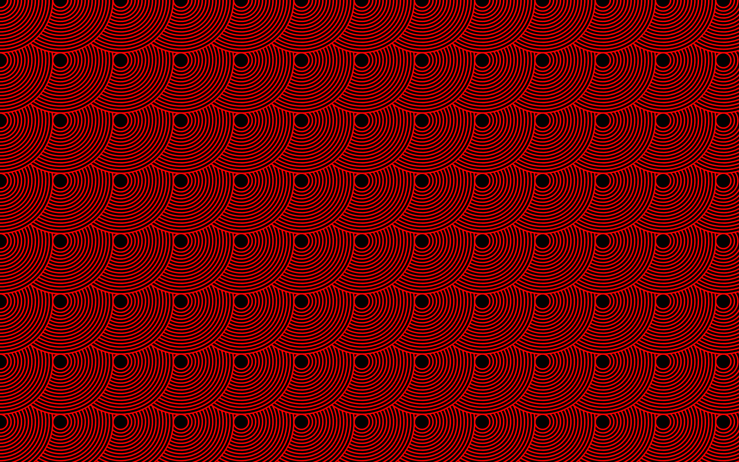 Seamless Concentric Circles Pattern 2 by GDJ